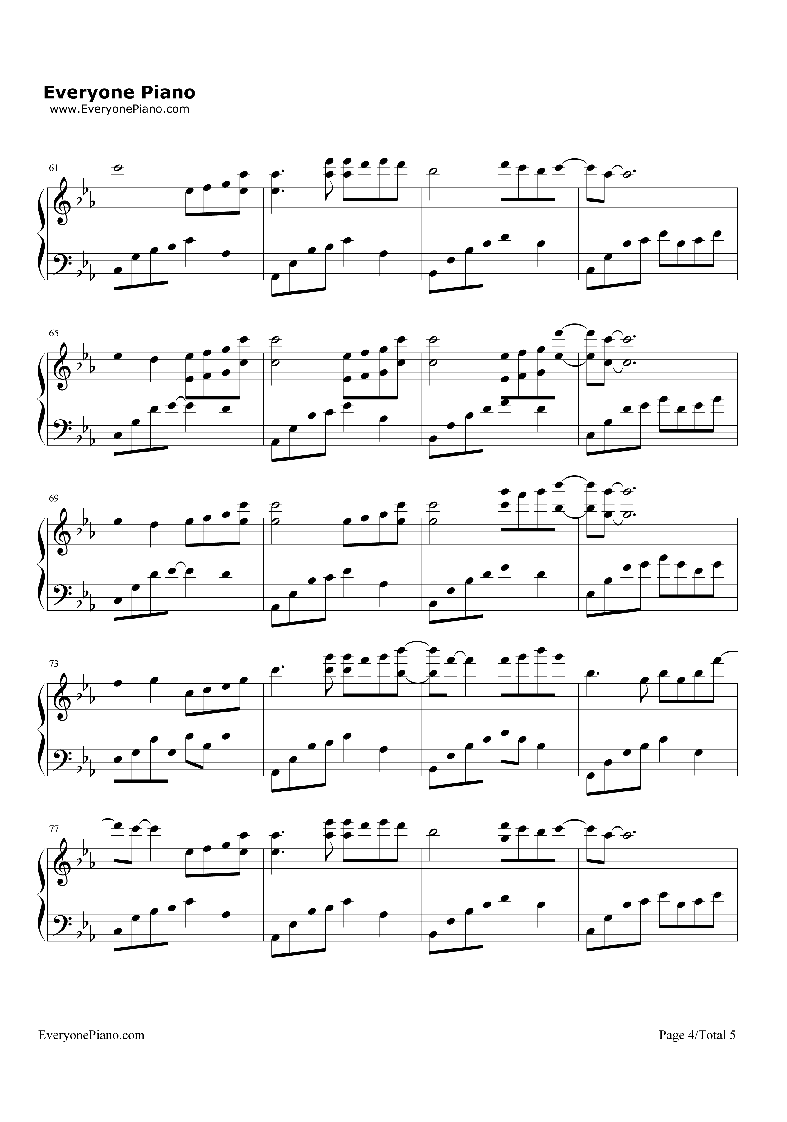 亲 给我一份 夜的钢琴曲五的钢琴谱带指法的好吗?图片