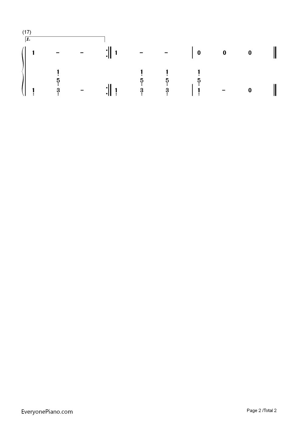 摇篮曲-lullaby-舒伯特双手简谱预览