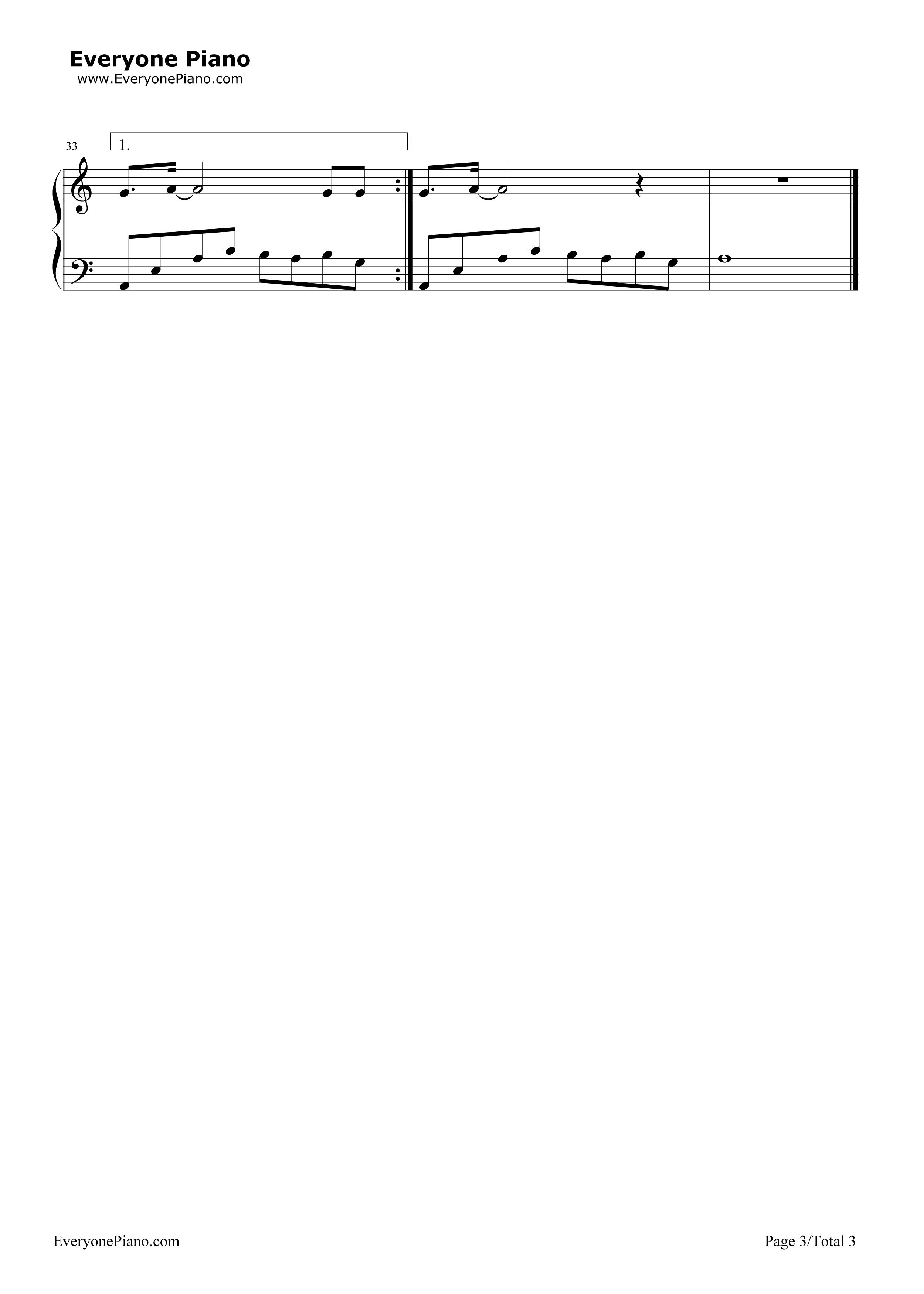 钢琴曲谱 流行 画心-画皮主题曲-eop魔鬼训练营练习曲 画心-画皮主题
