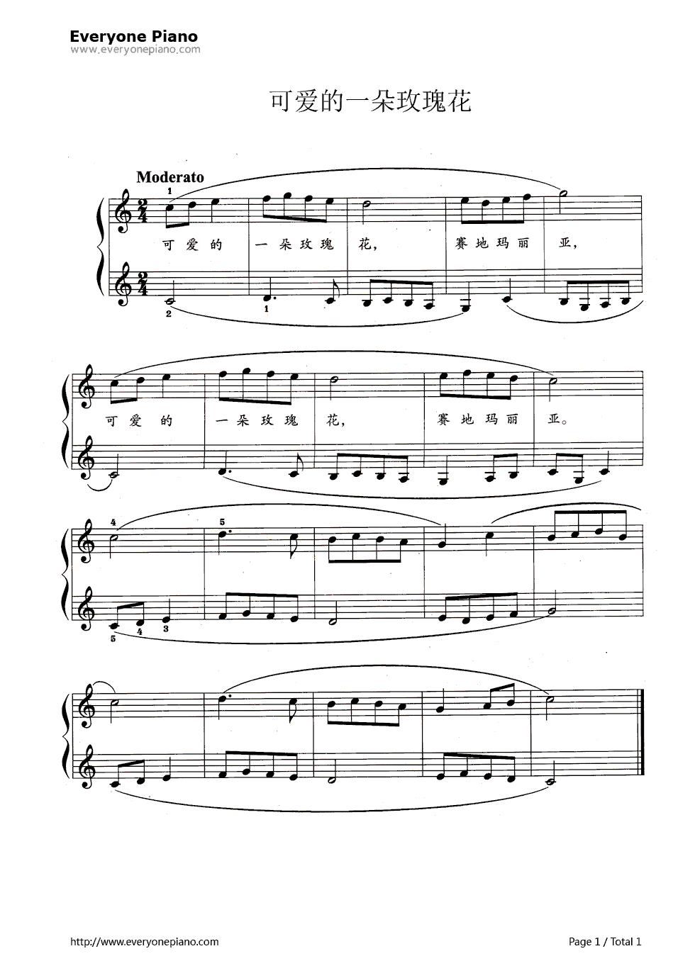 小螺号电子琴歌谱