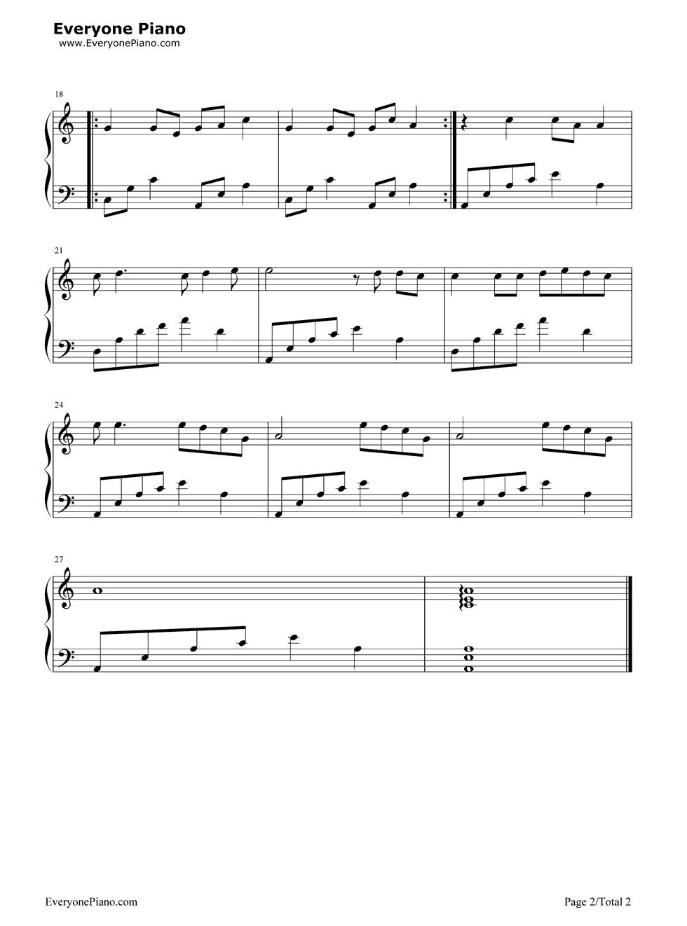 钢琴曲谱 流行 千年等一回-新白娘子传奇主题曲 千年等一回-新白娘子