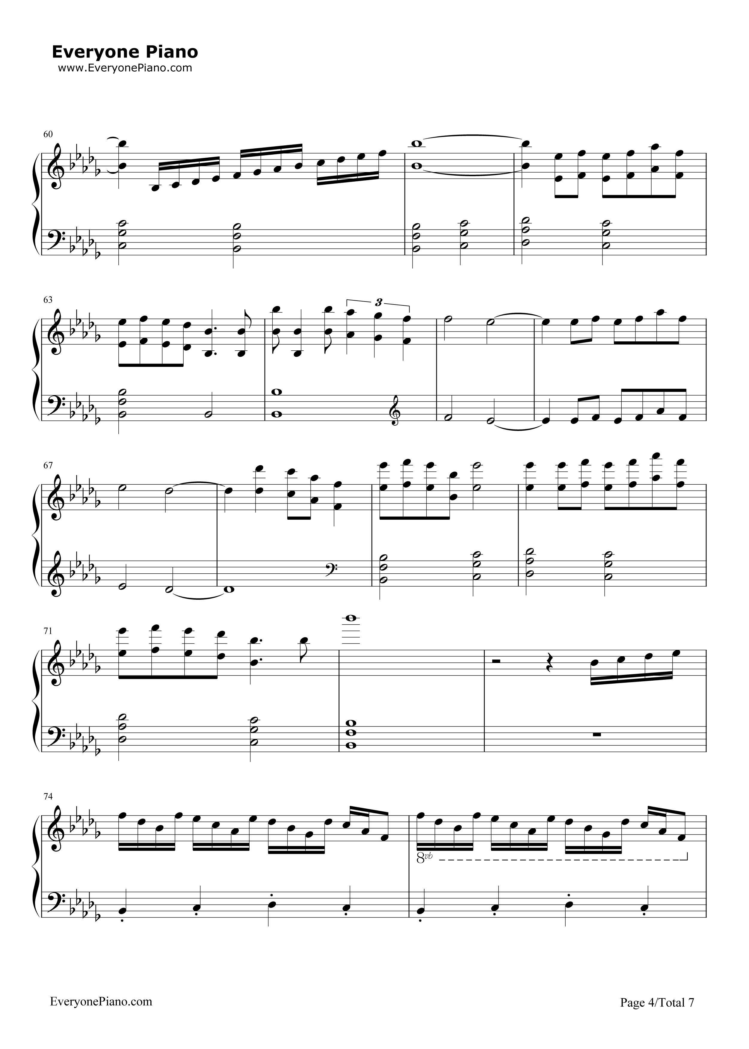 幼儿歌曲双手弹钢琴简谱图片