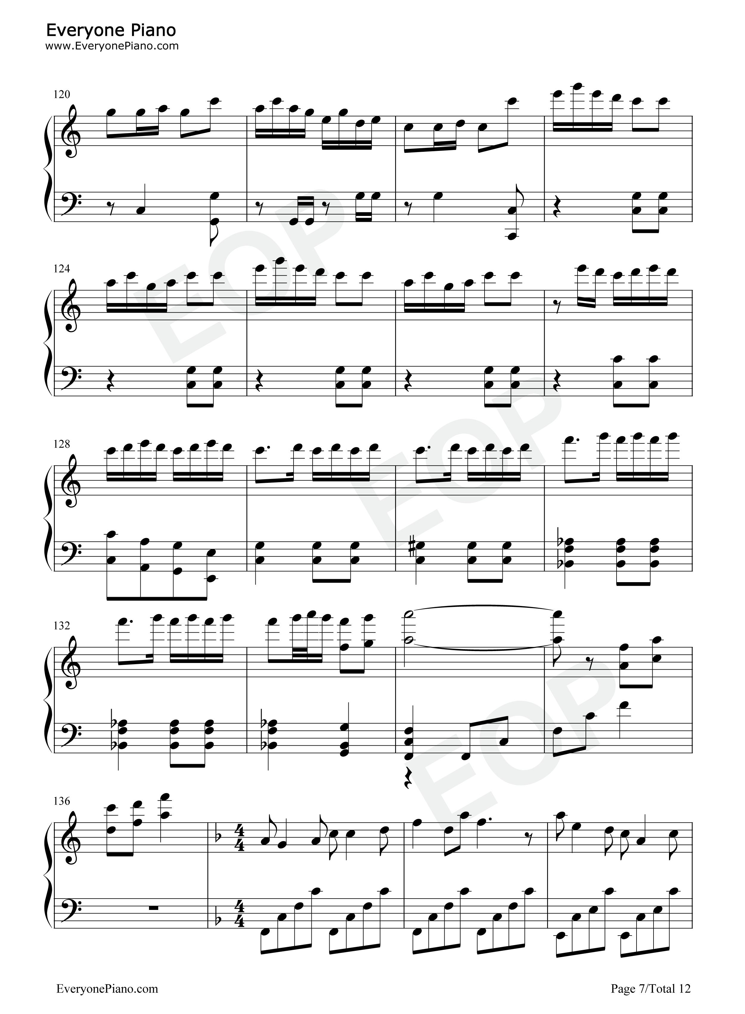 春节序曲教案_春节序曲五线谱预览