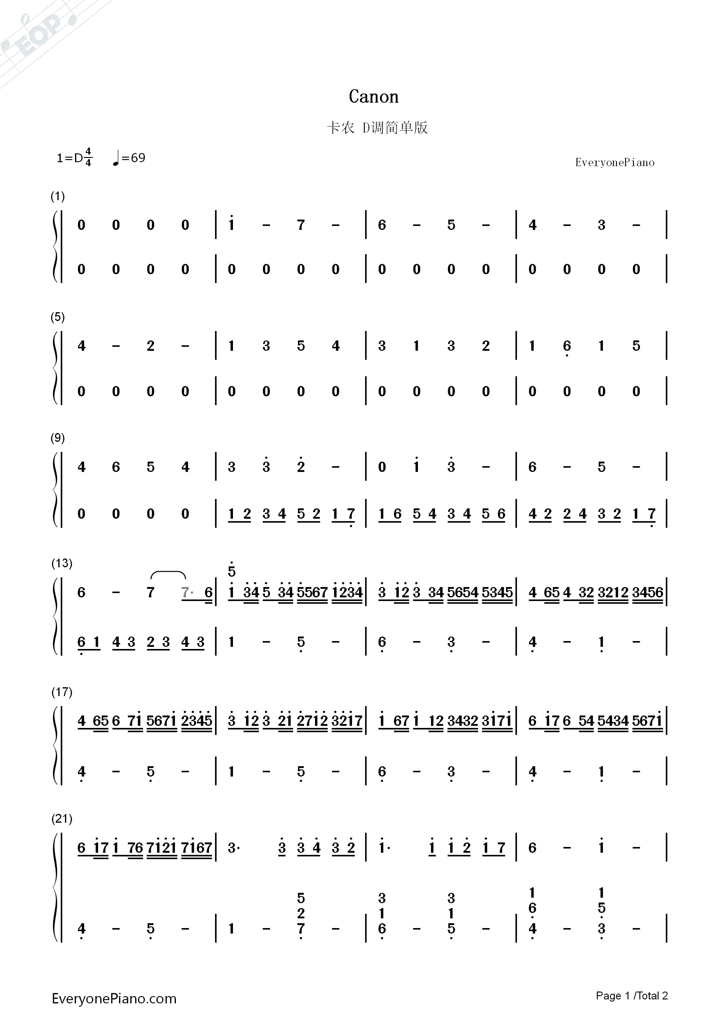 吉他 譜 簡單 版