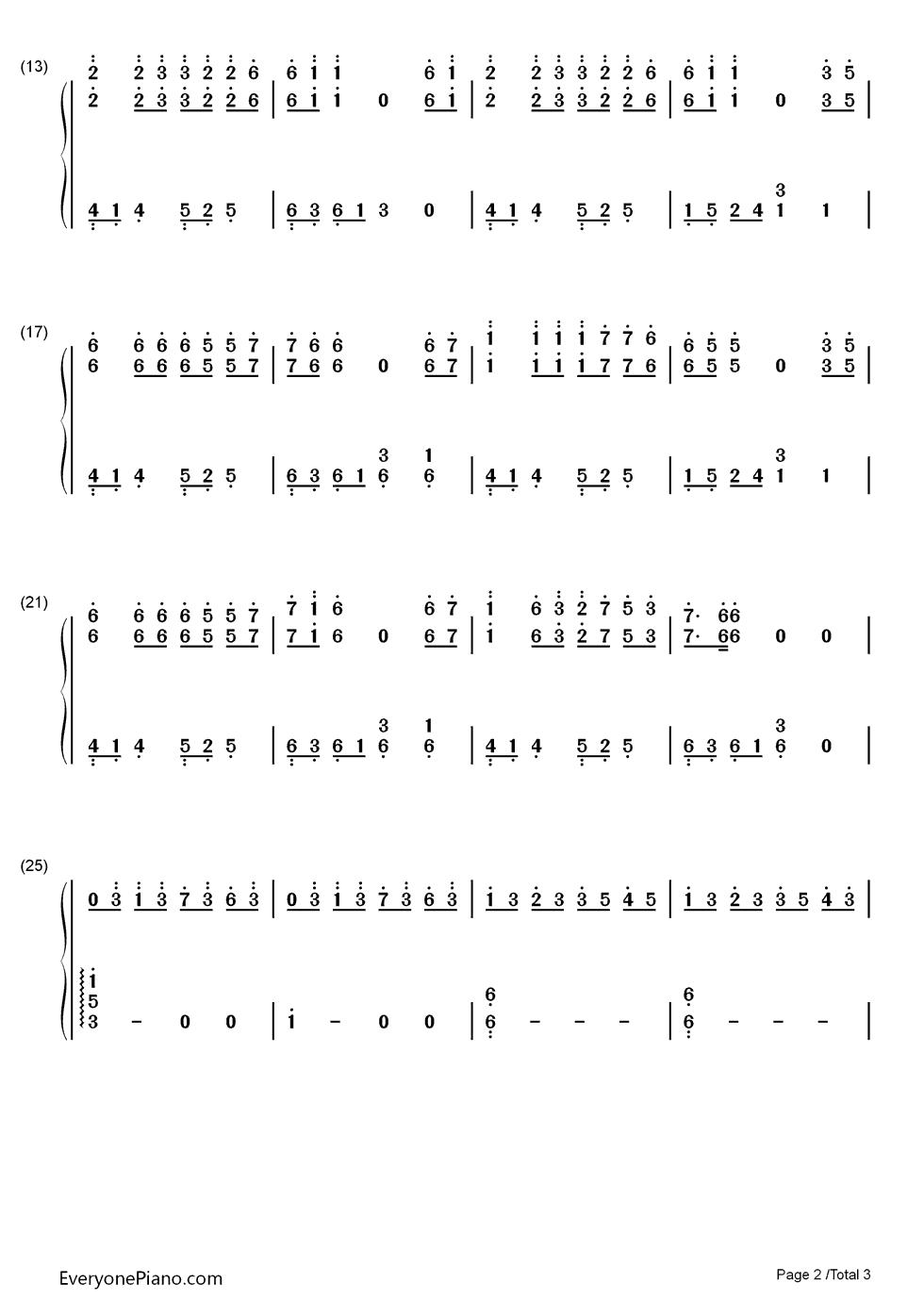 1945那年-电影海角七号插曲双手简谱预览