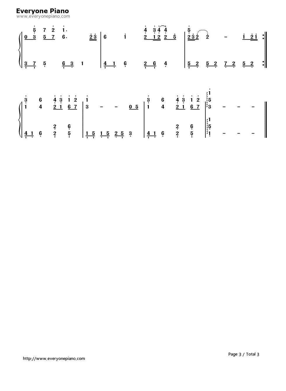 约定-林文信版-eop教学曲双手简谱预览3-钢琴谱图片