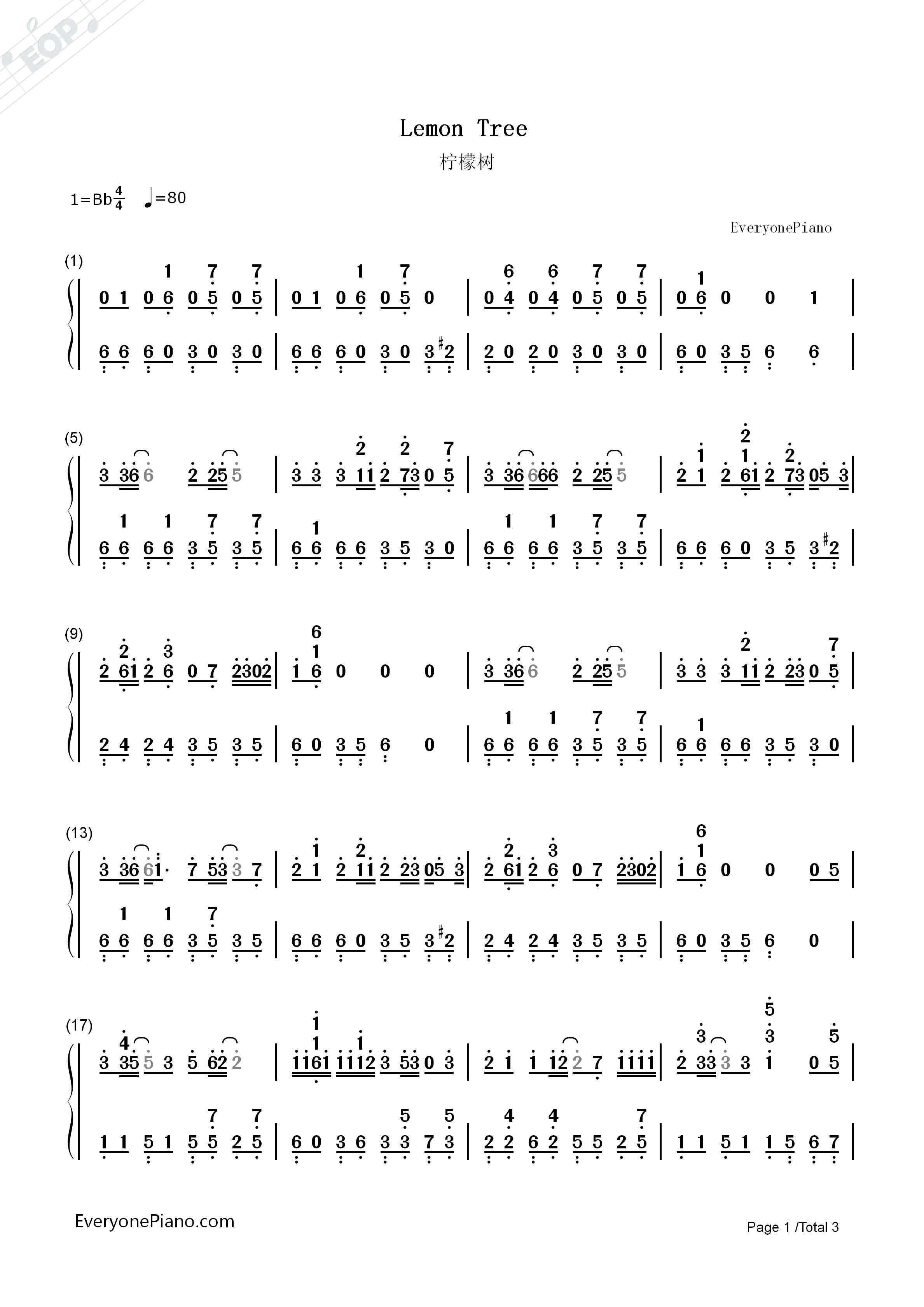 卡農 鋼琴 版