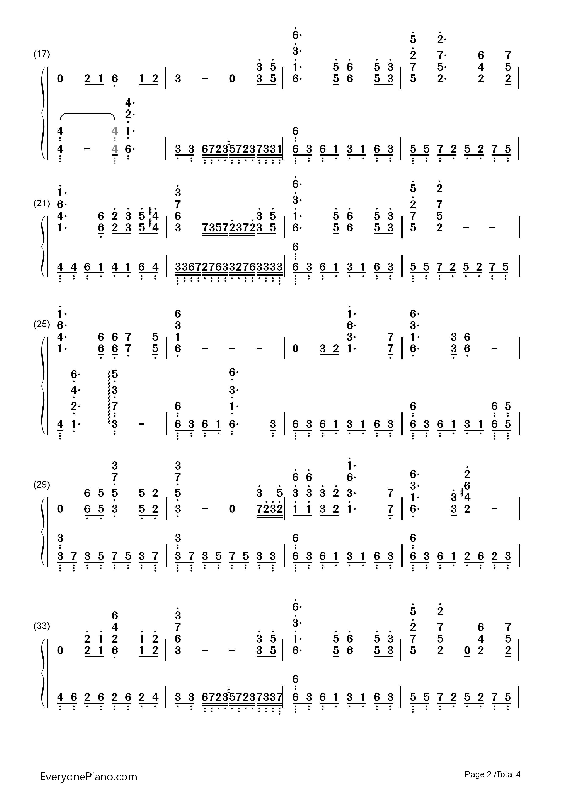 铁血丹心钢琴谱简谱