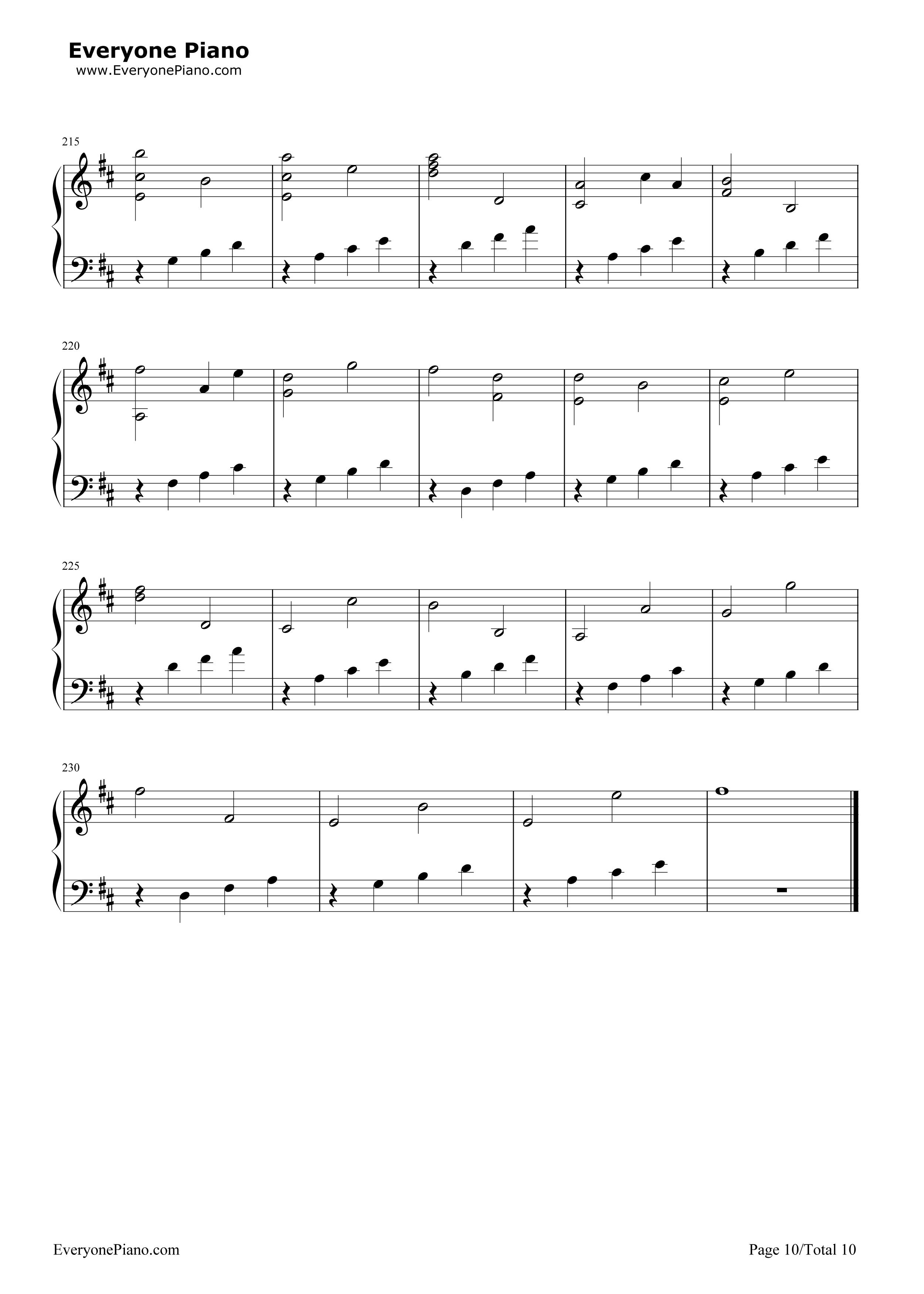 d大调卡农钢琴曲_d大调卡农钢琴曲mp3