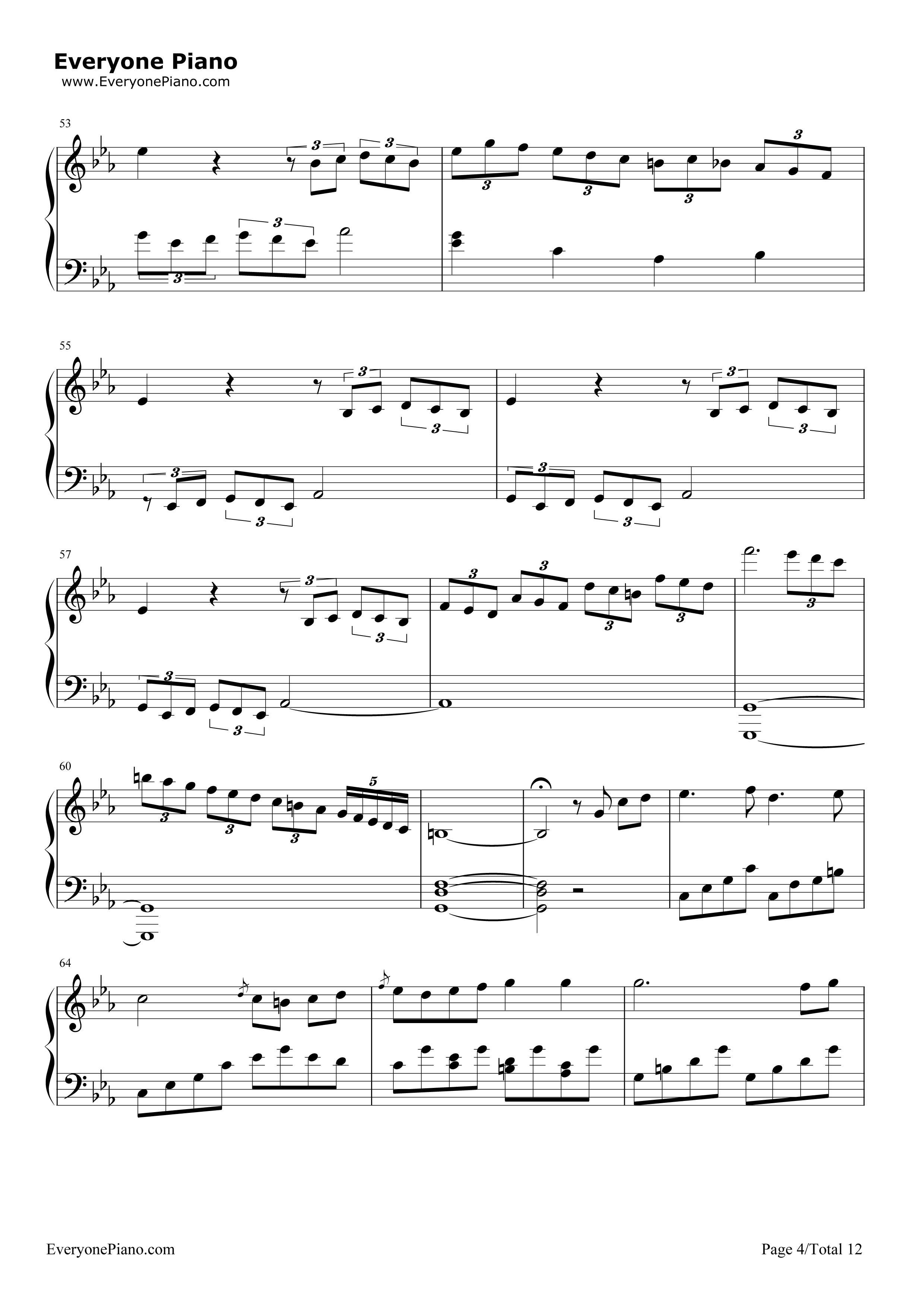 网站首页 钢琴曲谱 经典 悲怆-贝多芬-c小调第八钢琴奏鸣曲第三乐章 >