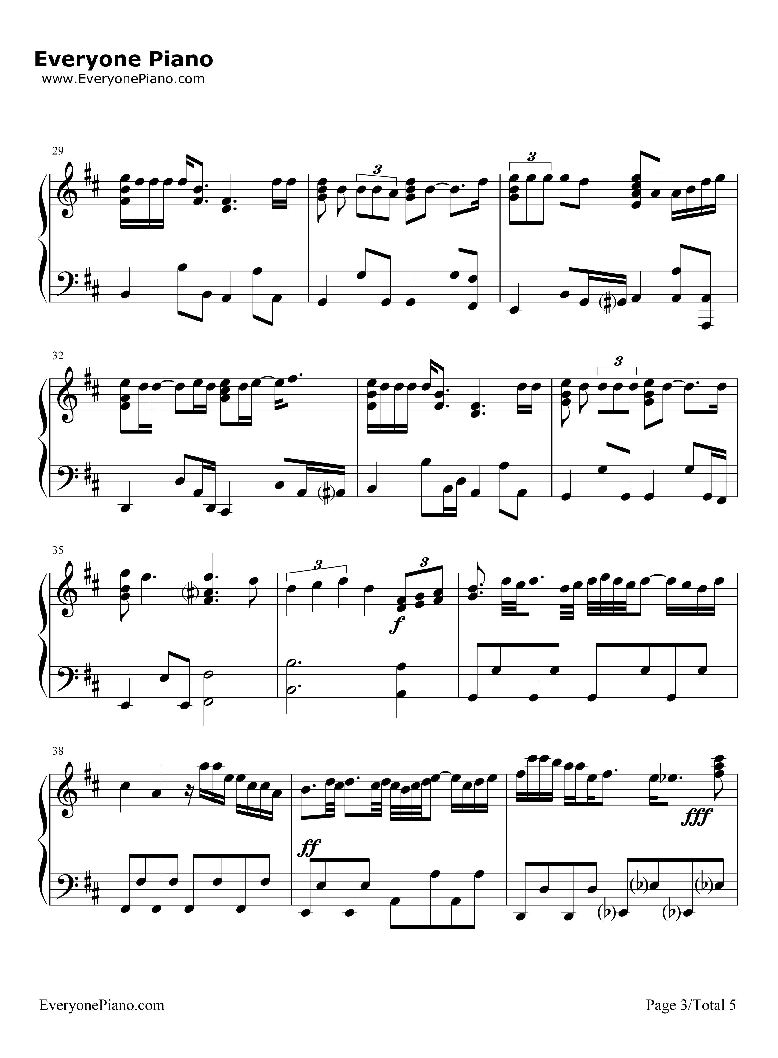 钢琴曲谱 流行 忘记你我做不到-张学友 忘记你我做不到-张学友五线谱