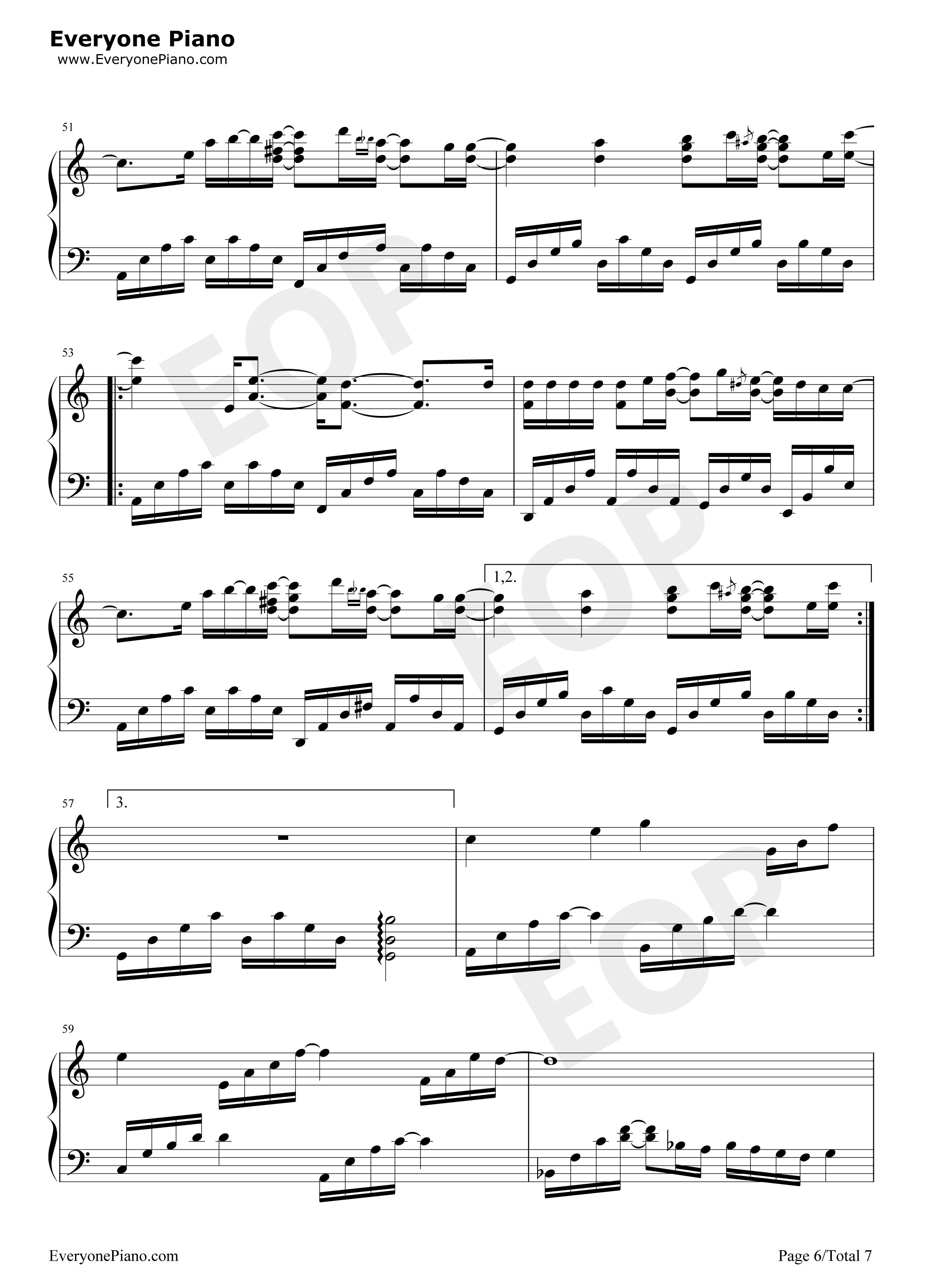 钢琴曲谱 动漫 i do-《攻壳机动队 stand alone complex ost 2》 i do