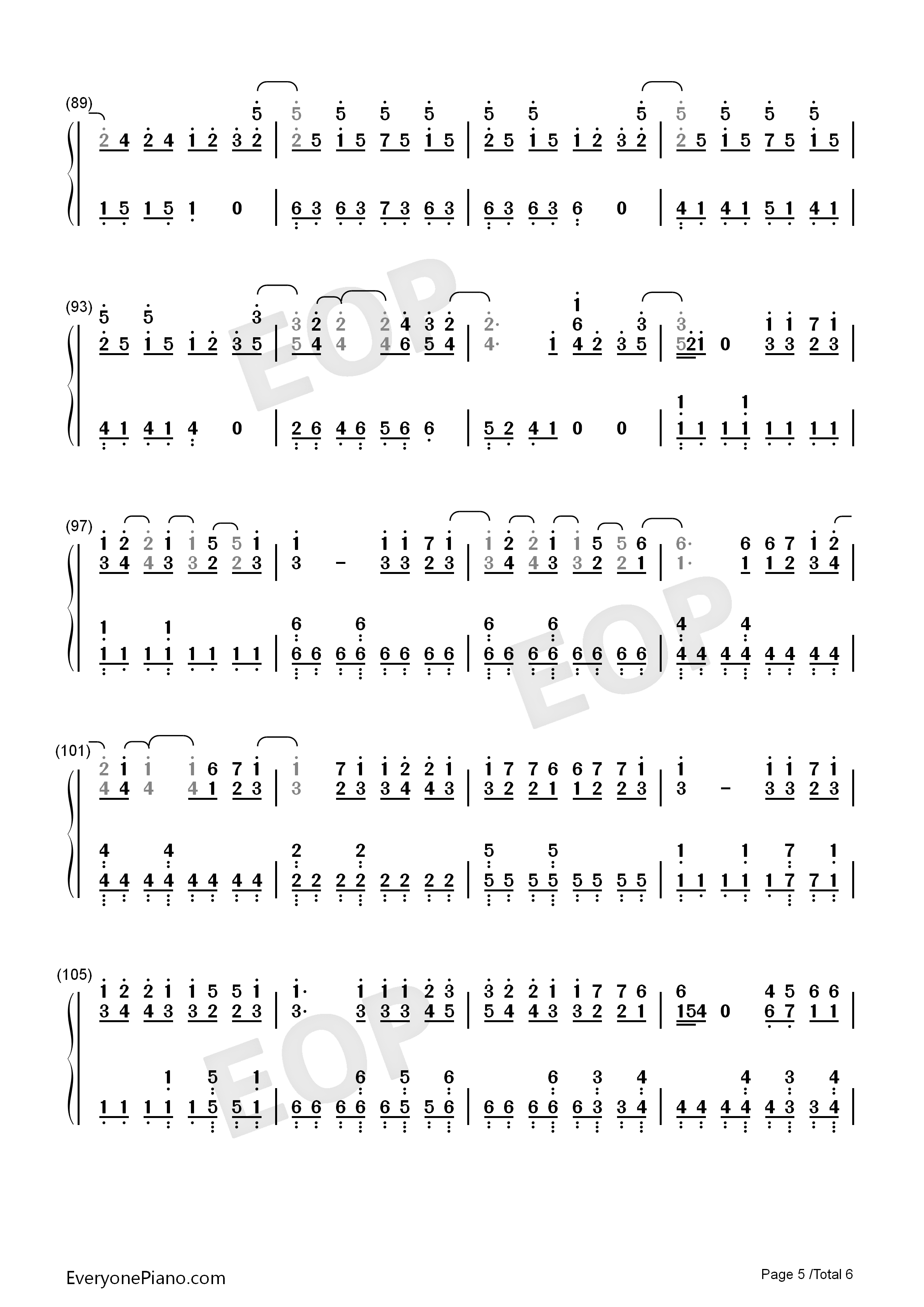 exo歌曲竖笛谱八孔