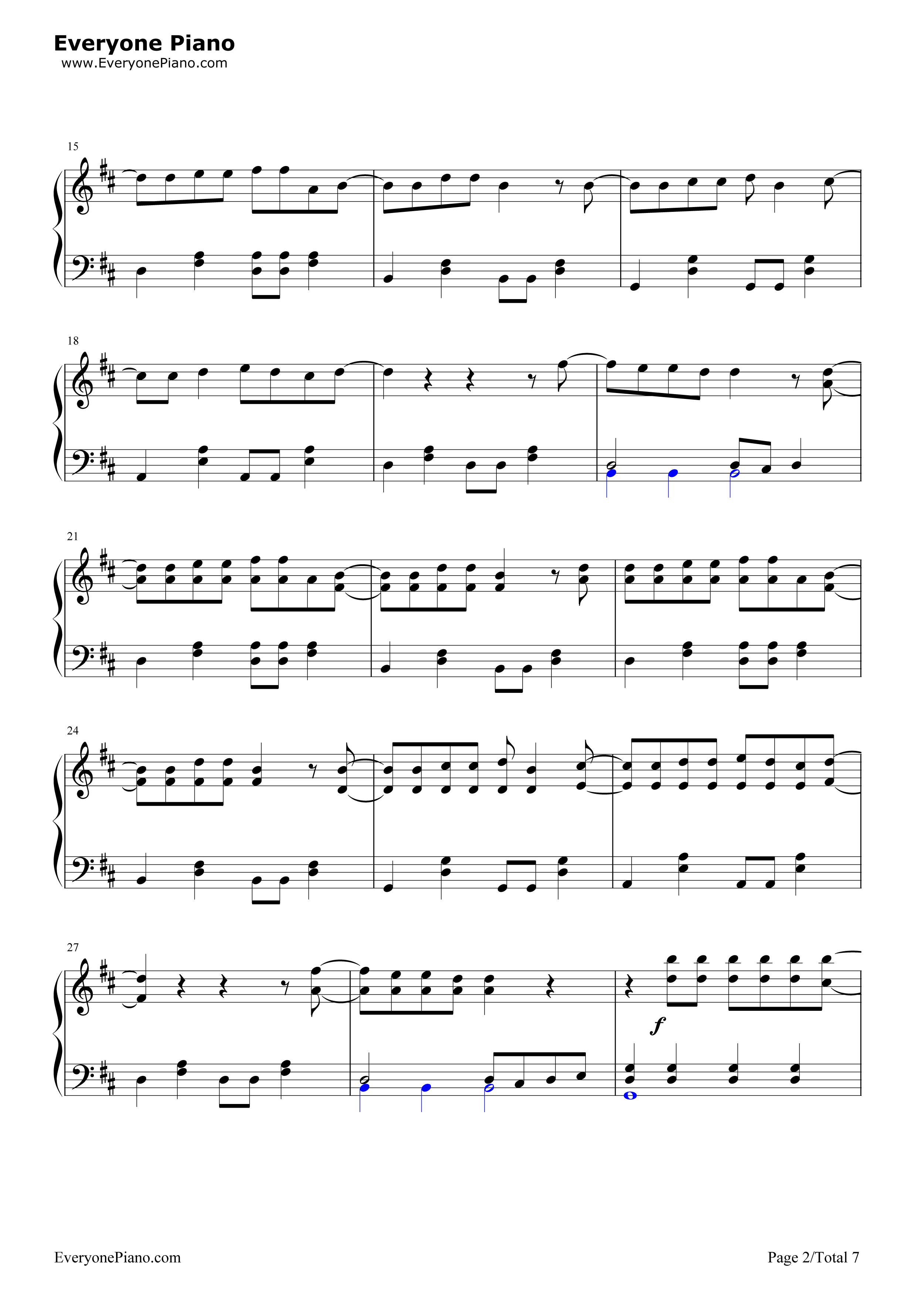 钢琴曲谱 流行 恋するフォーチュンクッキー(恋爱的幸运饼干)-akb48
