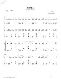 歌曲曲谱大全 流行歌曲简谱合集 图文