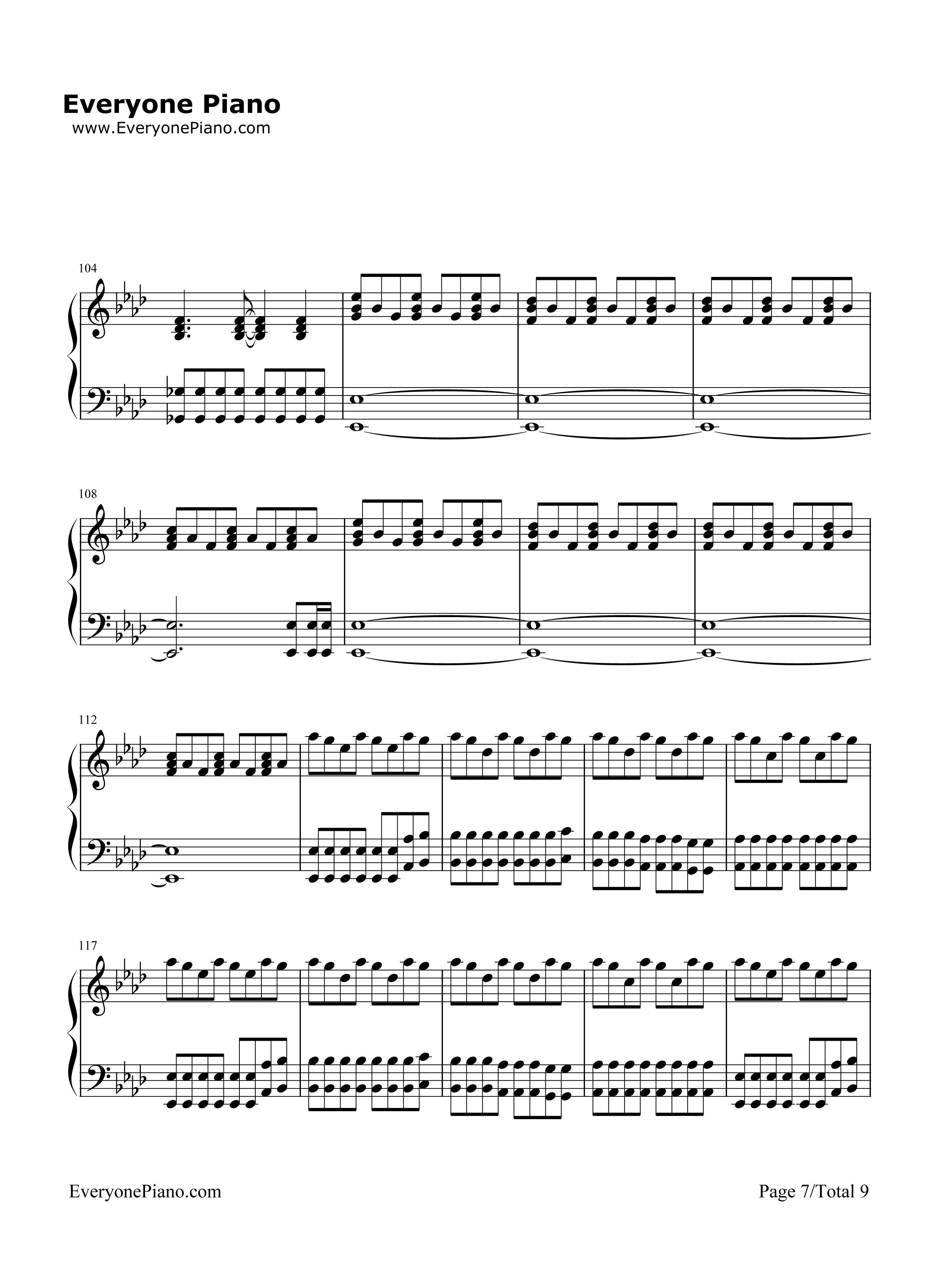 ldplay五线谱预览7 钢琴谱档 五线谱 双手简谱 数位谱 Midi PDF 免费