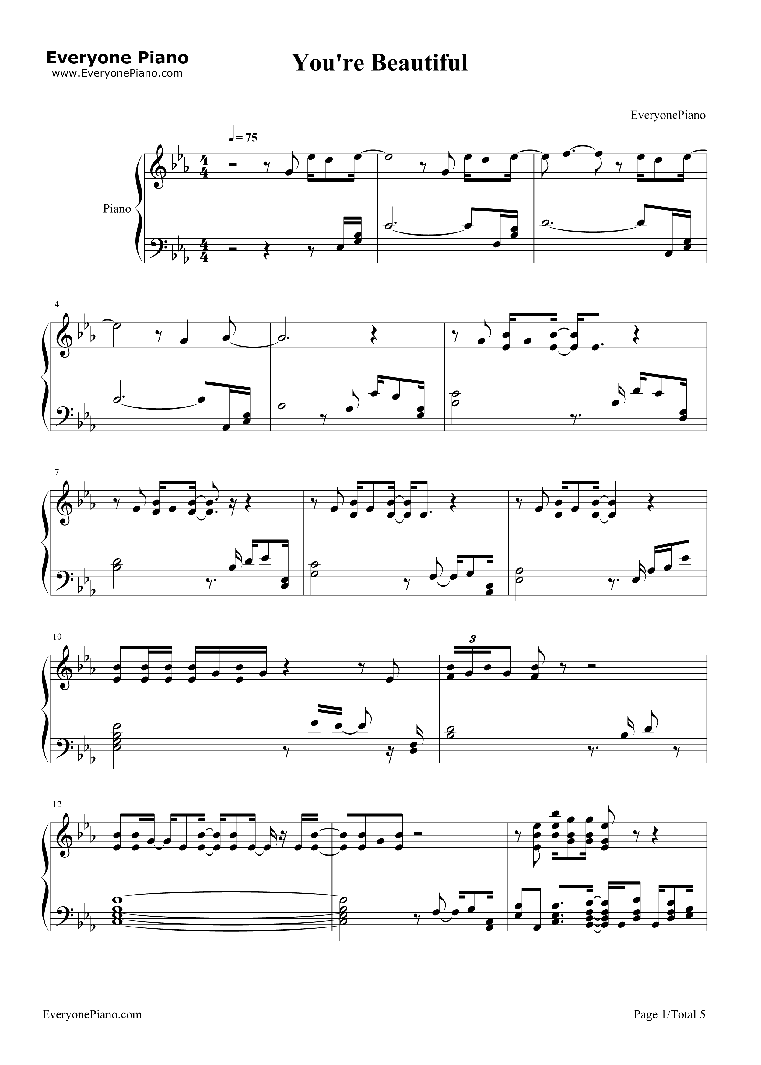 Beneath your beautiful piano sheet music free pdf piano ideas beneath your beautiful piano music free ideas hexwebz Images