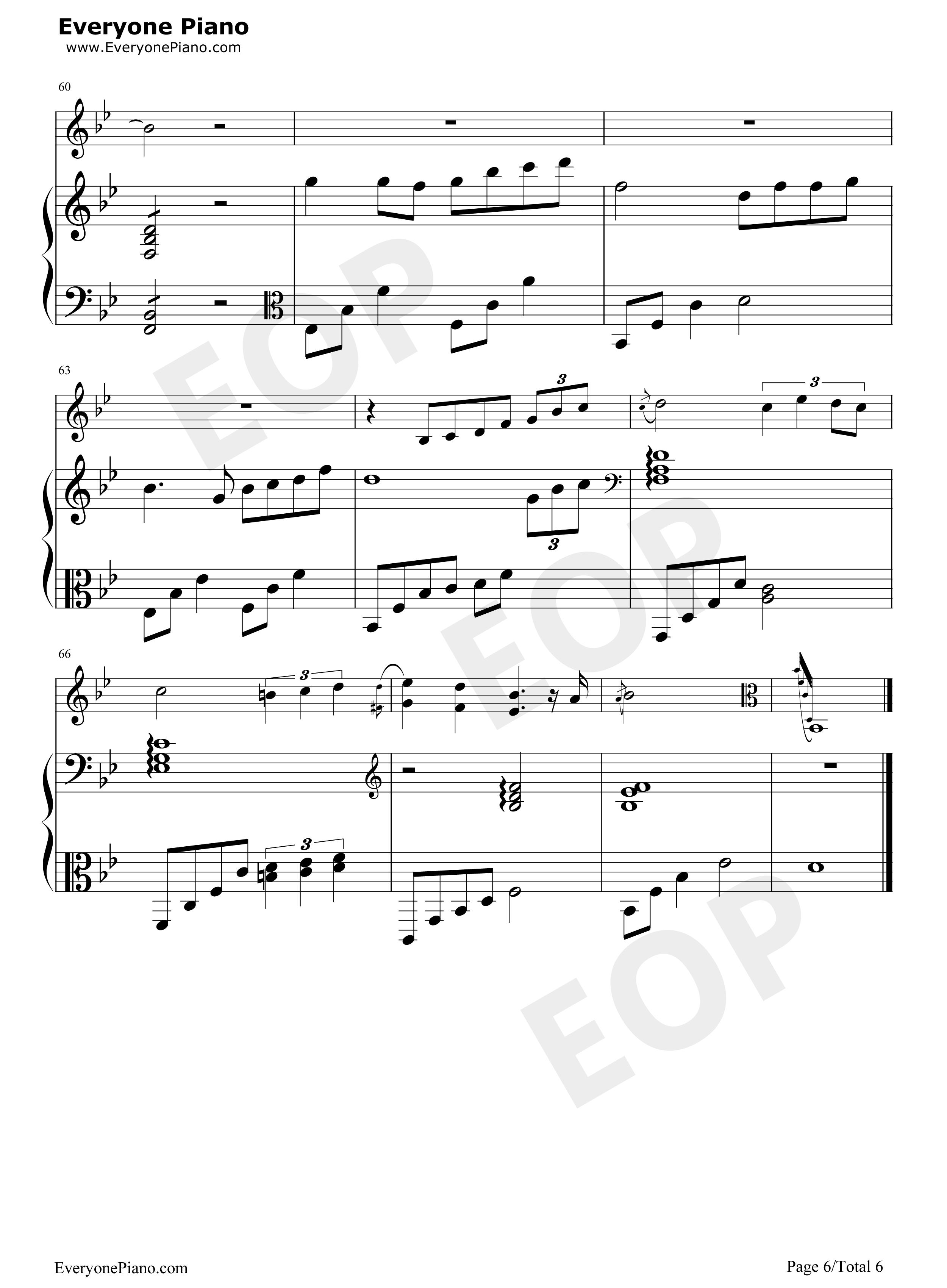 钢琴曲谱 流行 虹之间-《爱情公寓4》插曲 虹之间-《爱情公寓4》插曲