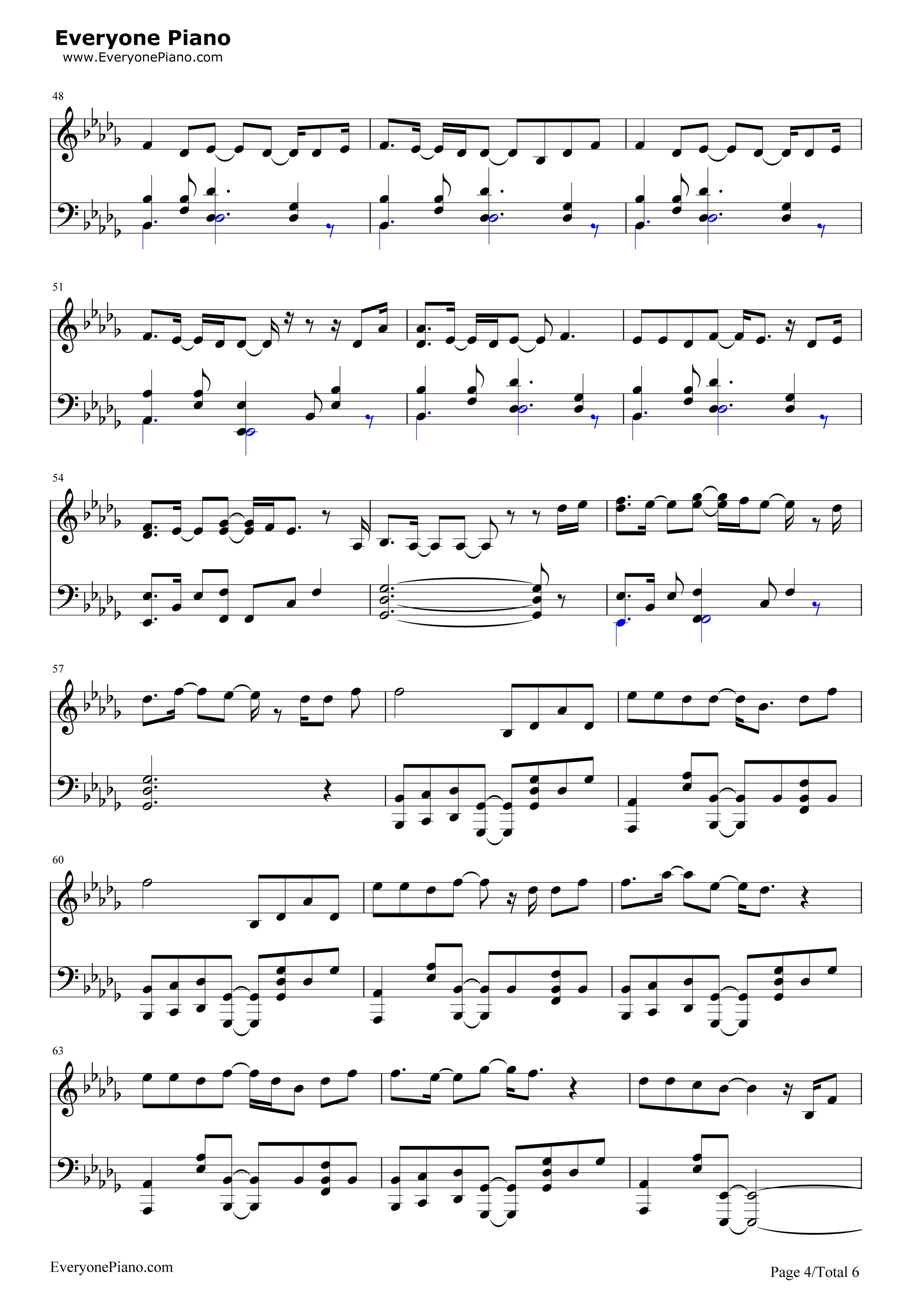 霍比特人笛子简谱
