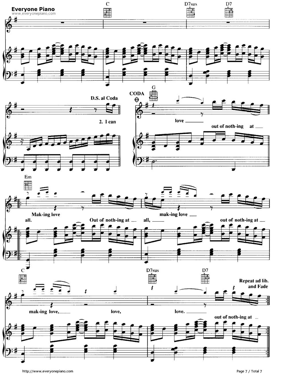 五线谱预览7 钢琴谱档 五线谱 双手简谱 数位谱 Midi PDF 免费下载