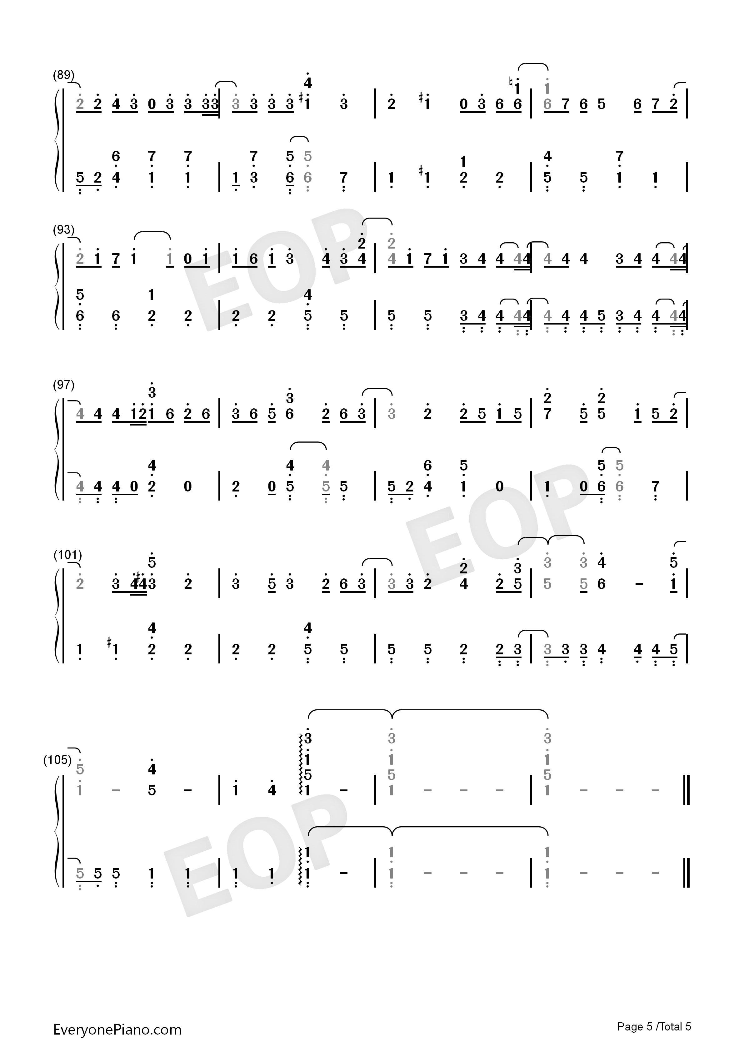 钢琴曲谱 流行 bittersweet-失恋巧克力职人 主题曲-岚 bittersweet