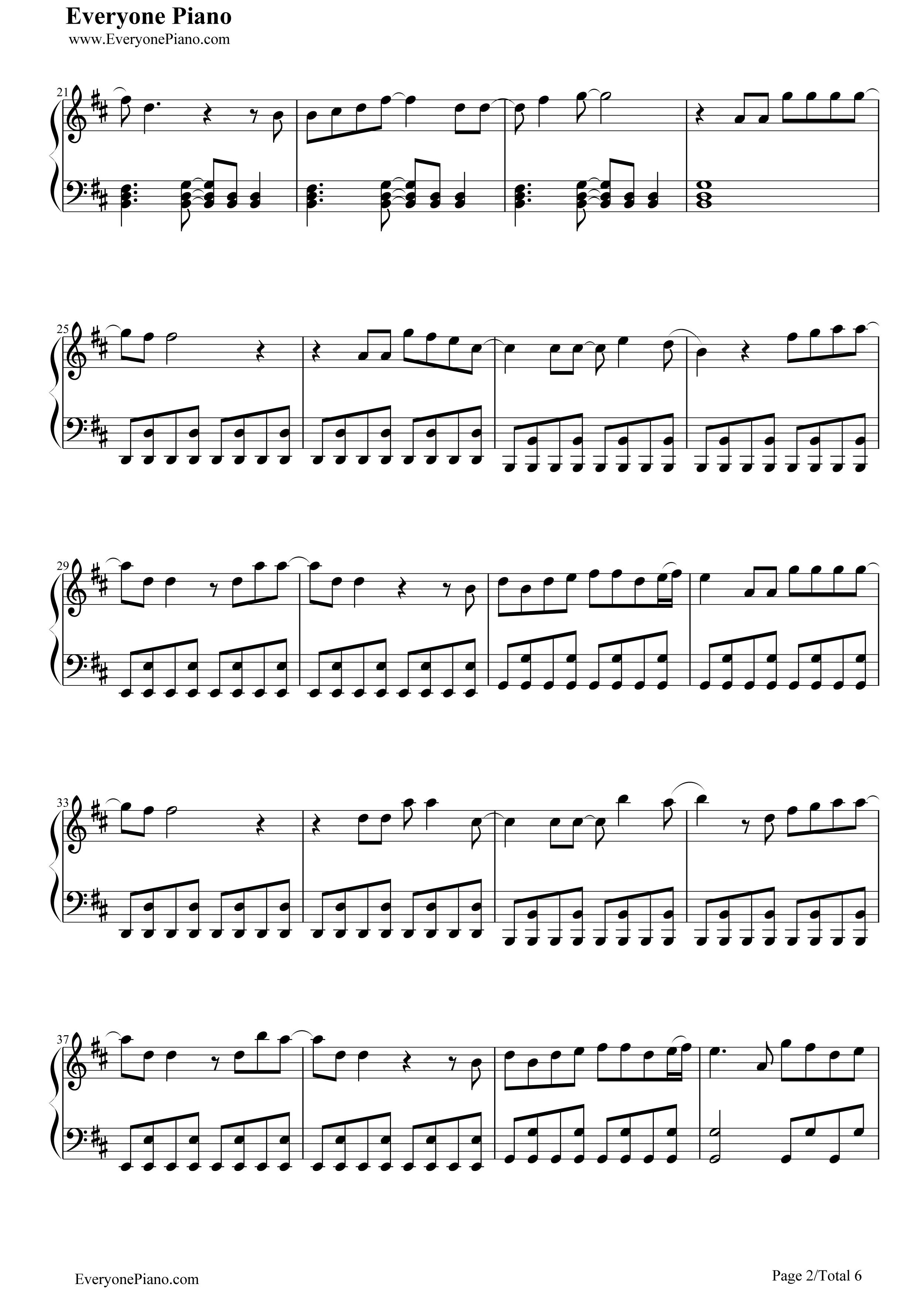xo五线谱预览2 钢琴谱档 五线谱 双手简谱 数位谱 Midi PDF 免费下载