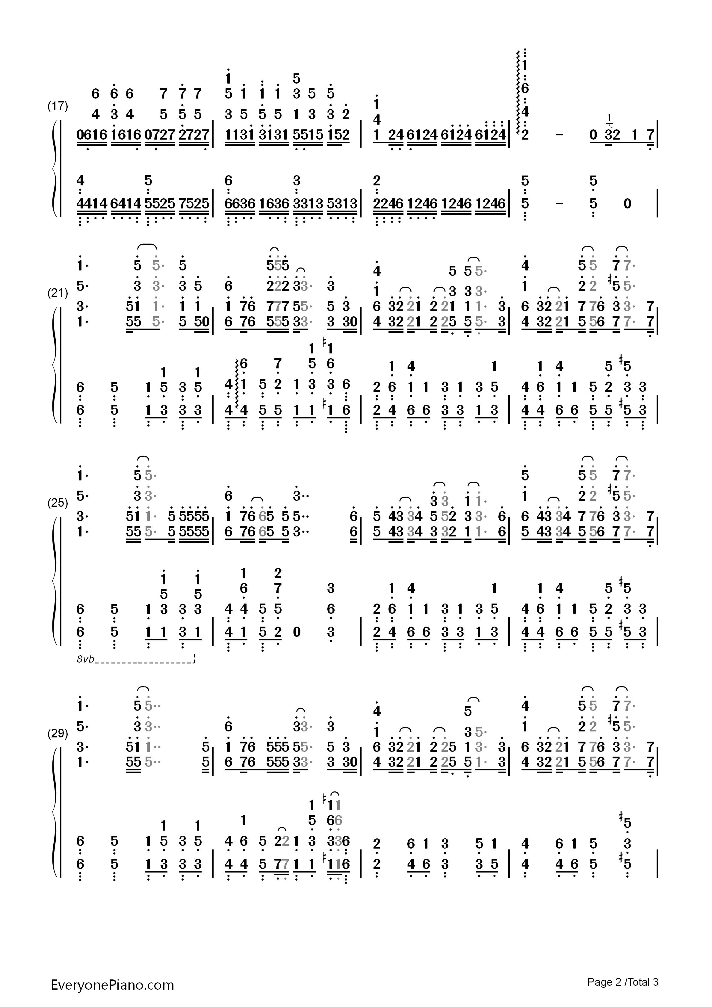 planetes-罪恶王冠:失落的圣诞节ova主题歌双手简谱2