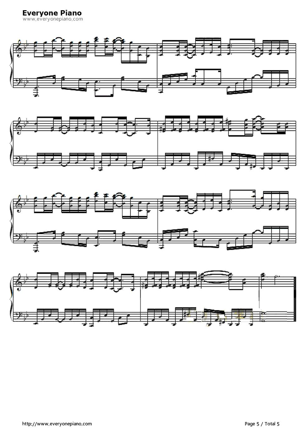 大长今主题曲古筝曲谱-河图歌曲古筝谱