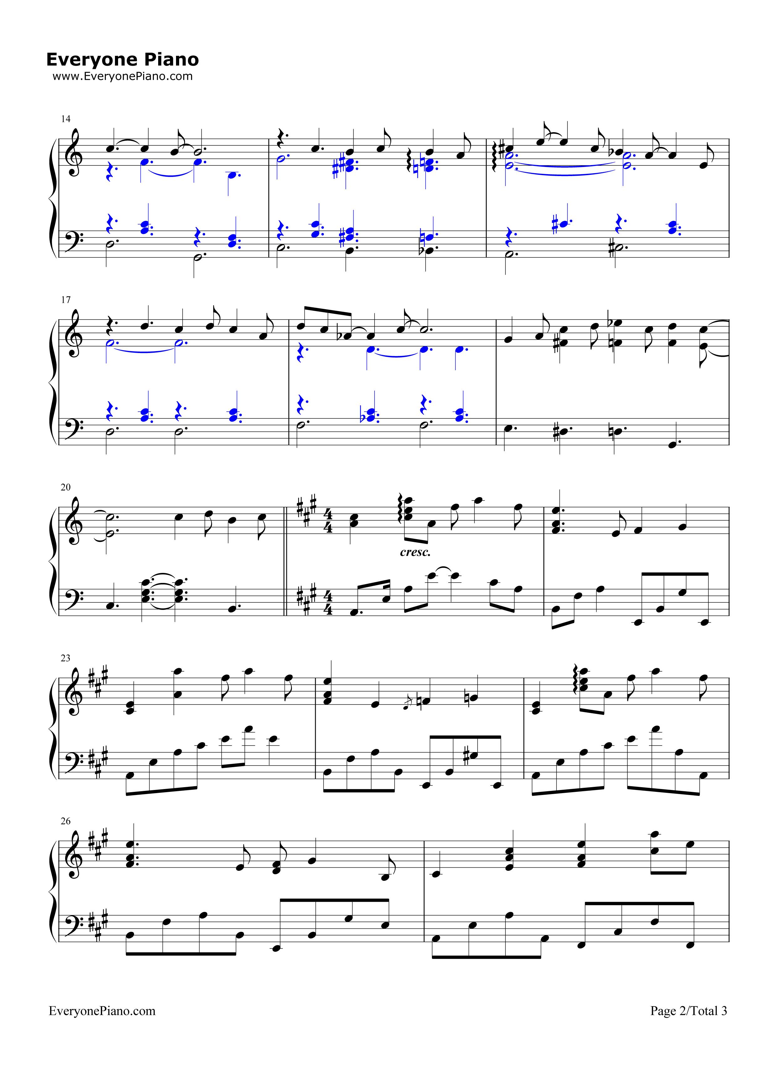 littletommy钢琴曲谱