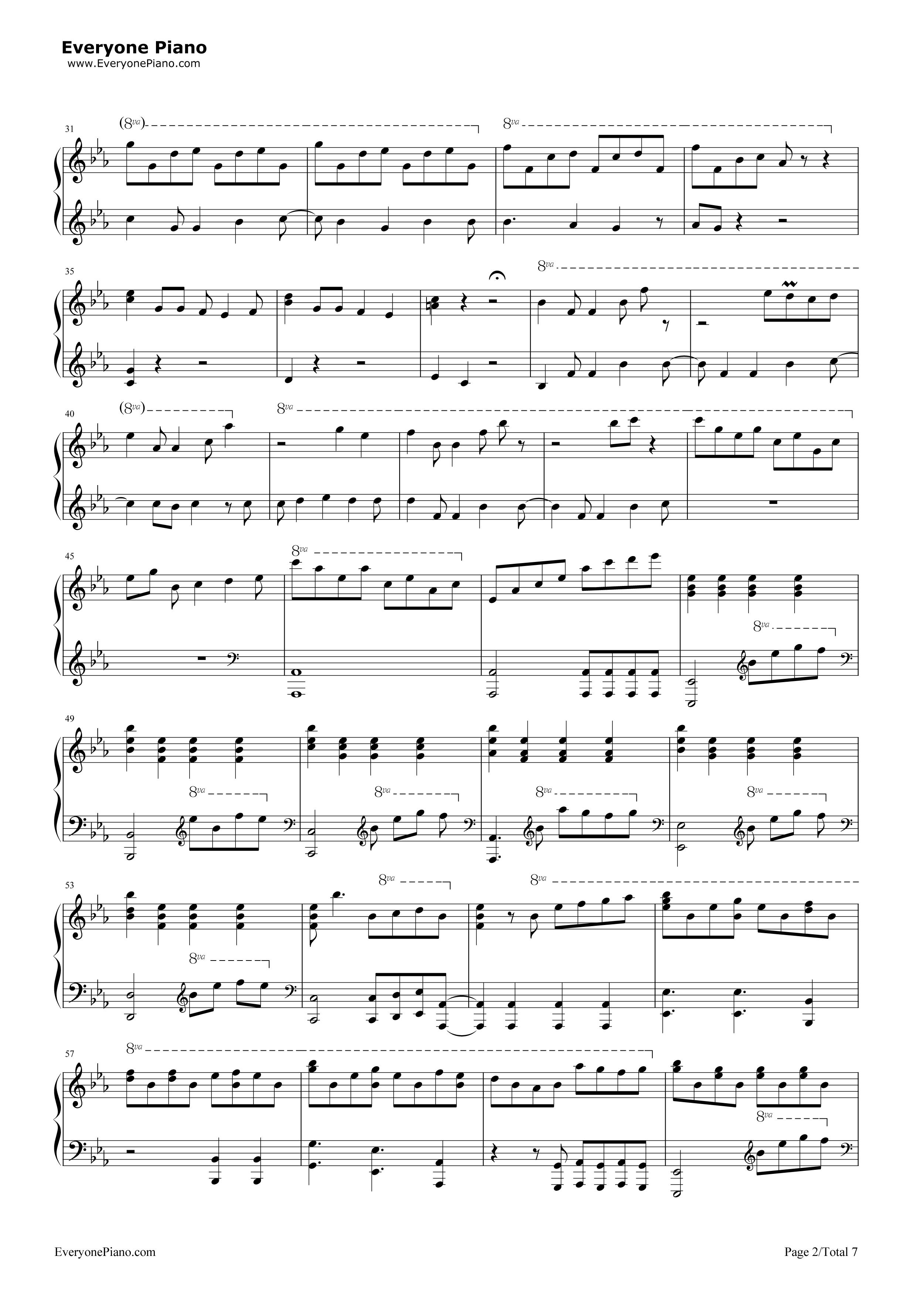 let it go伴奏-the piano guys-冰雪奇缘主题曲五线谱