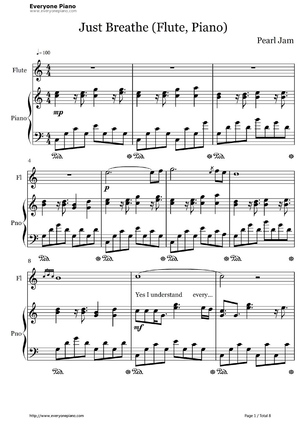 五线谱预览1 钢琴谱档 五线谱 双手简谱 数位谱 Midi PDF 免费下载