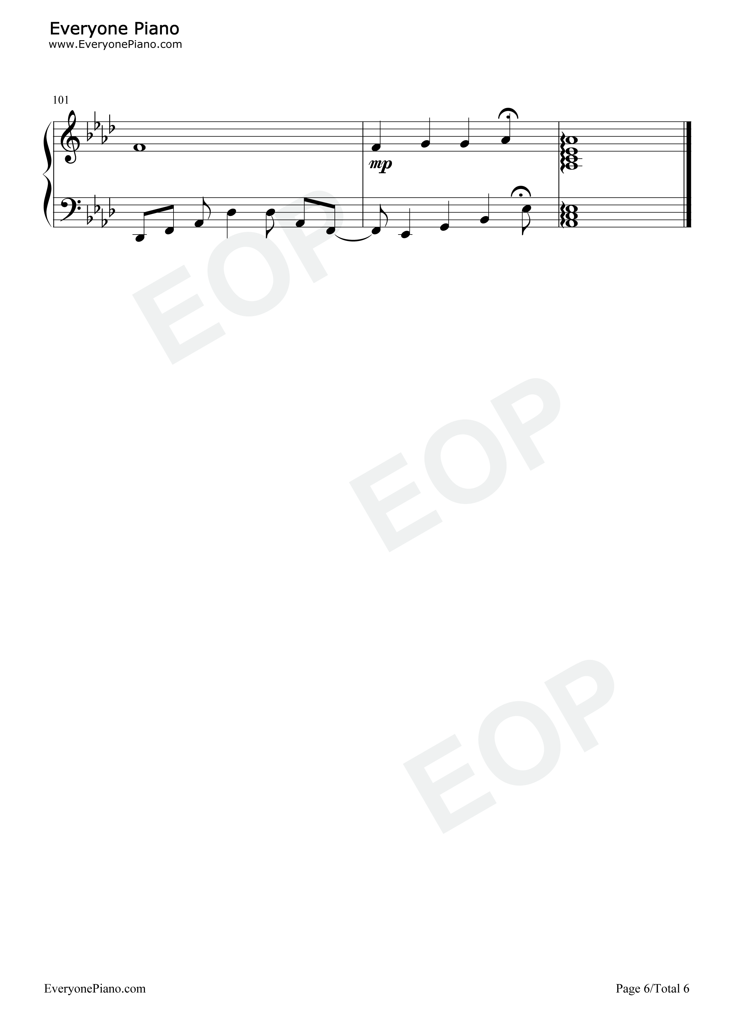 宝贝宝贝的架子鼓谱子-Praise Baby Collection五线谱预览6 钢琴谱档 五线谱 双手简谱 数位