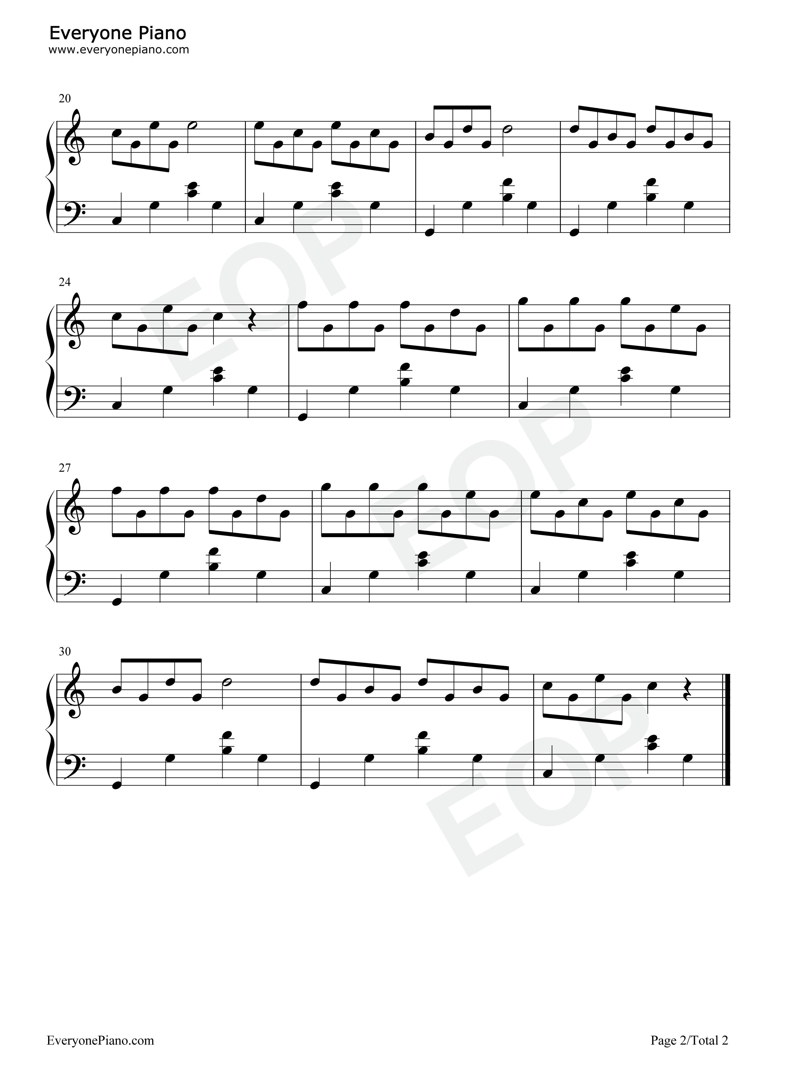 网站首页 钢琴曲谱 练习曲 在泉边-th. 奥斯廷 >> 在泉边-th.