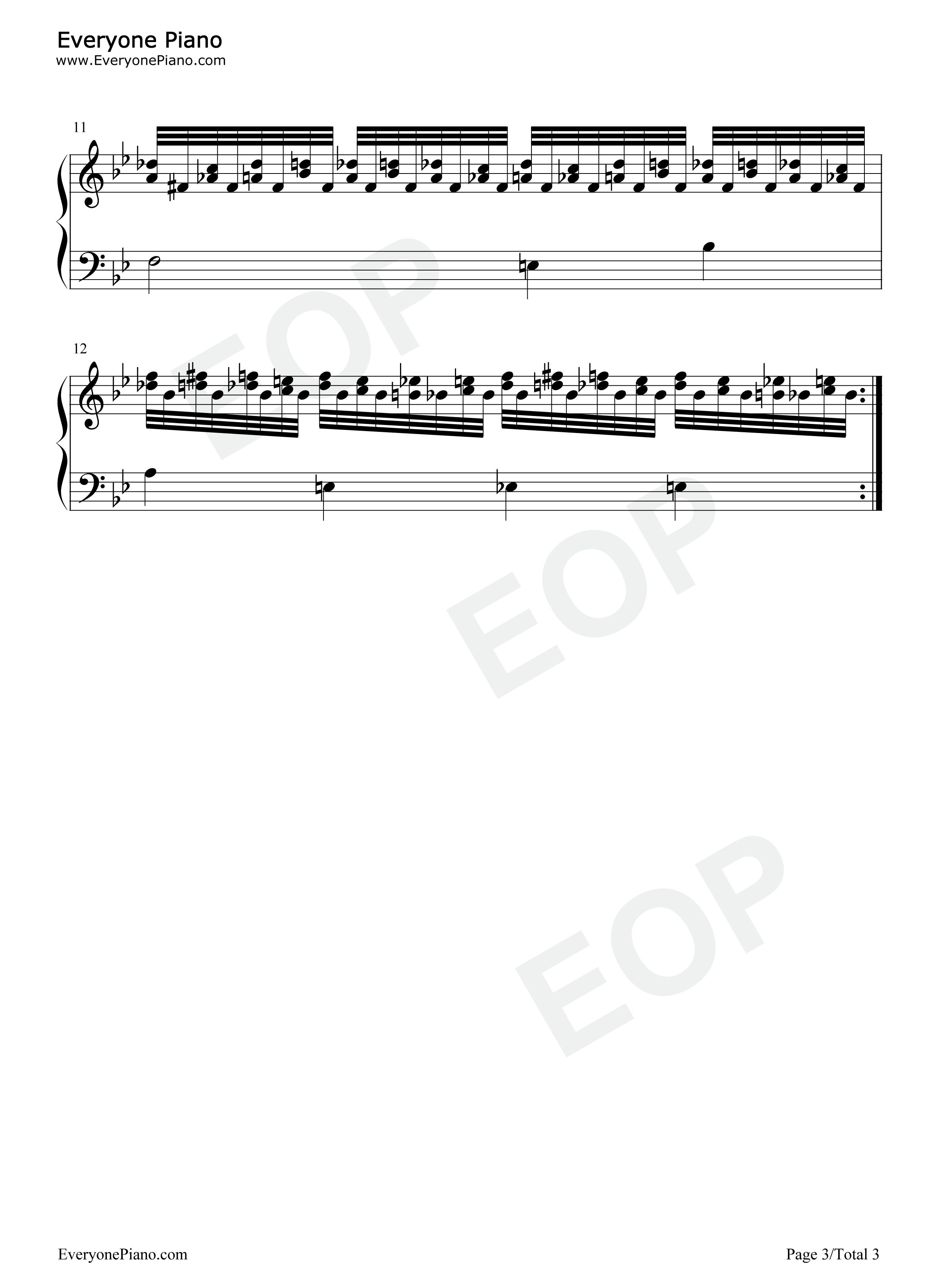 线谱预览3-钢琴谱 宽980*1322高