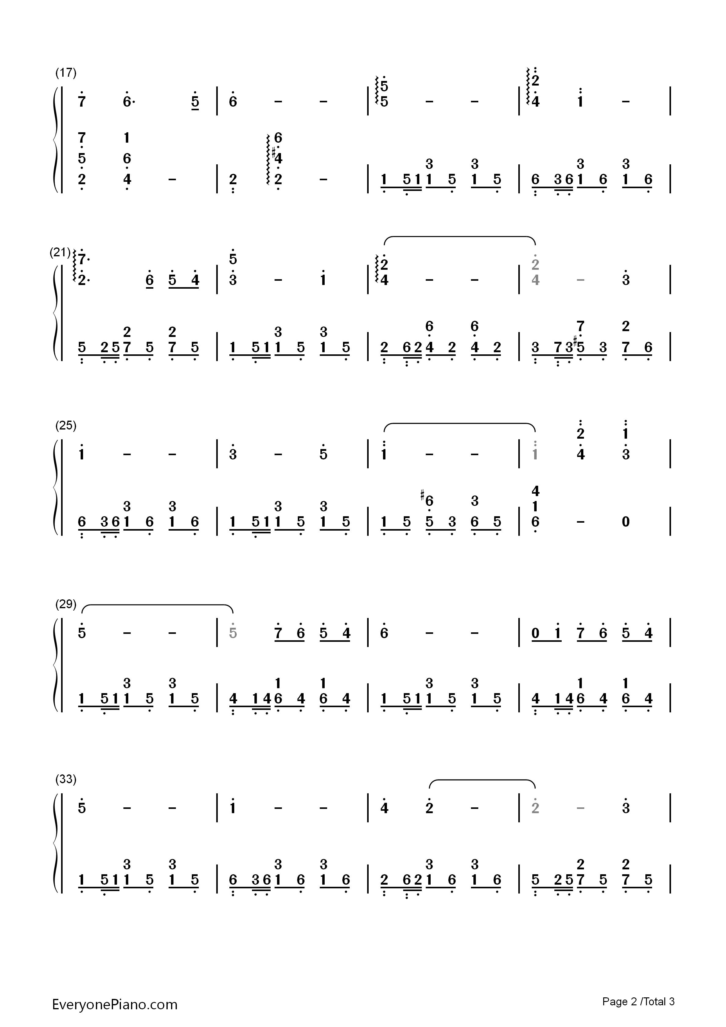 moon river长笛曲谱