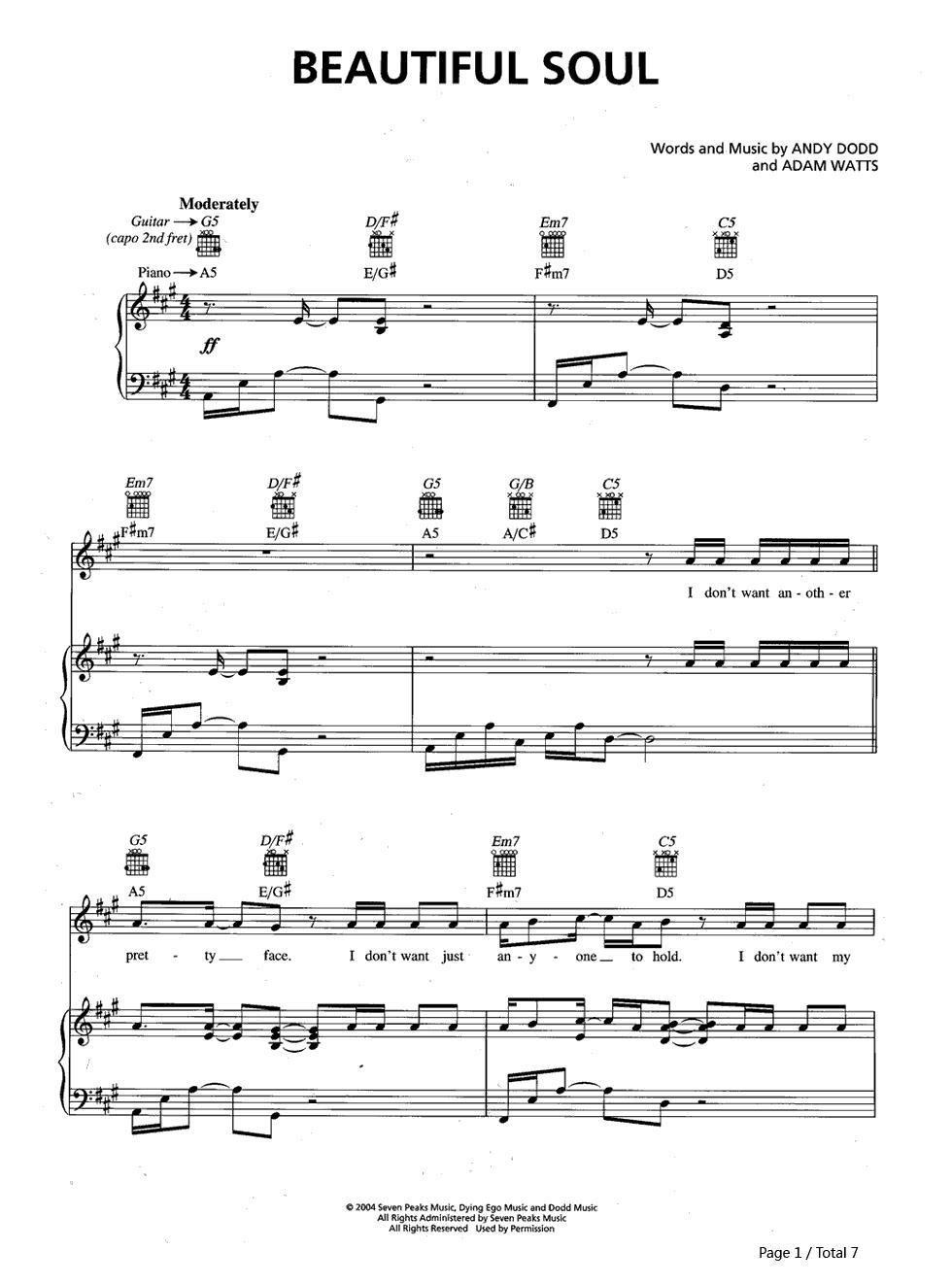 beautifullove 伴奏_轻音乐so beautiful钢琴谱_钢琴谱分享