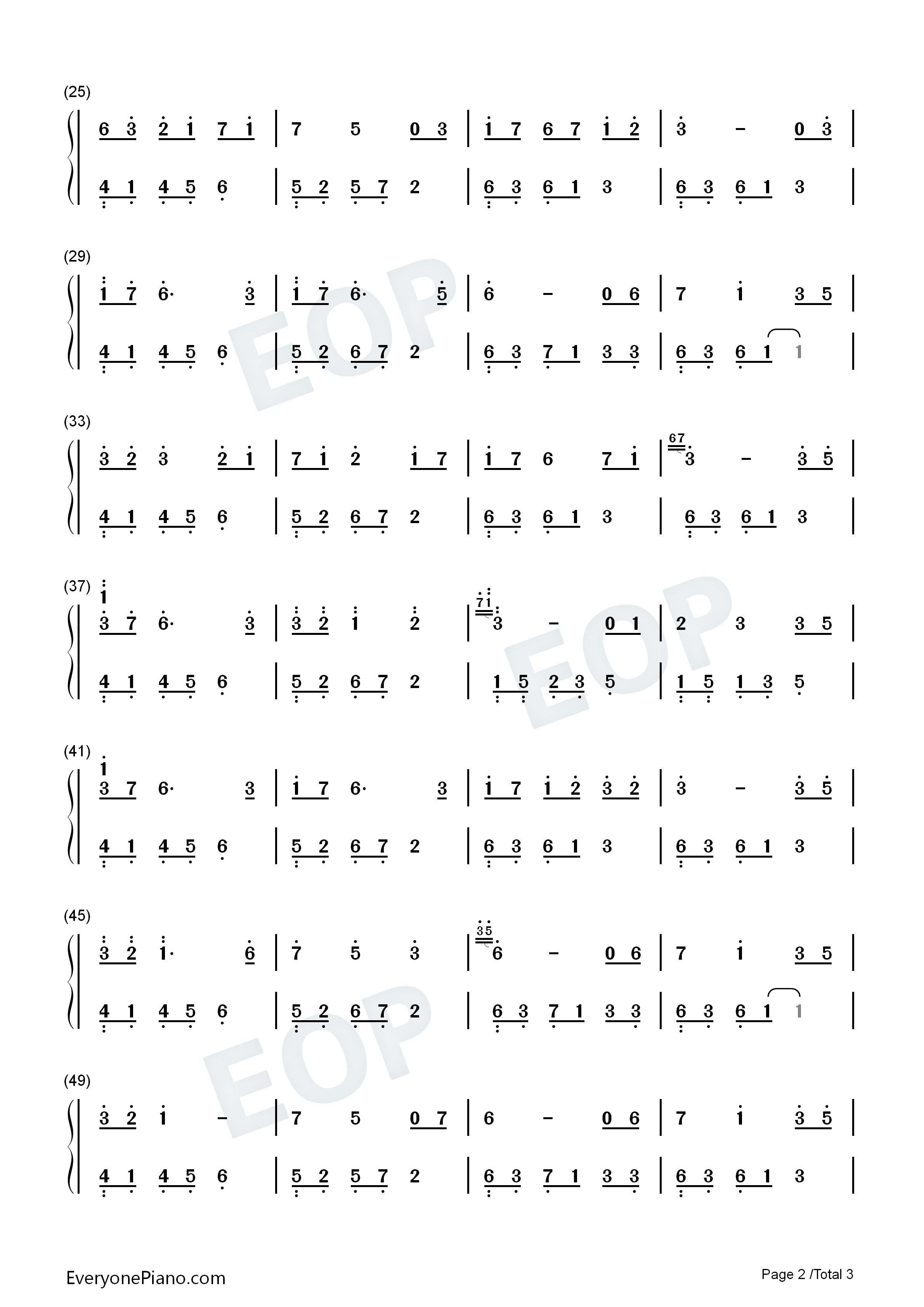 石进小提琴谱