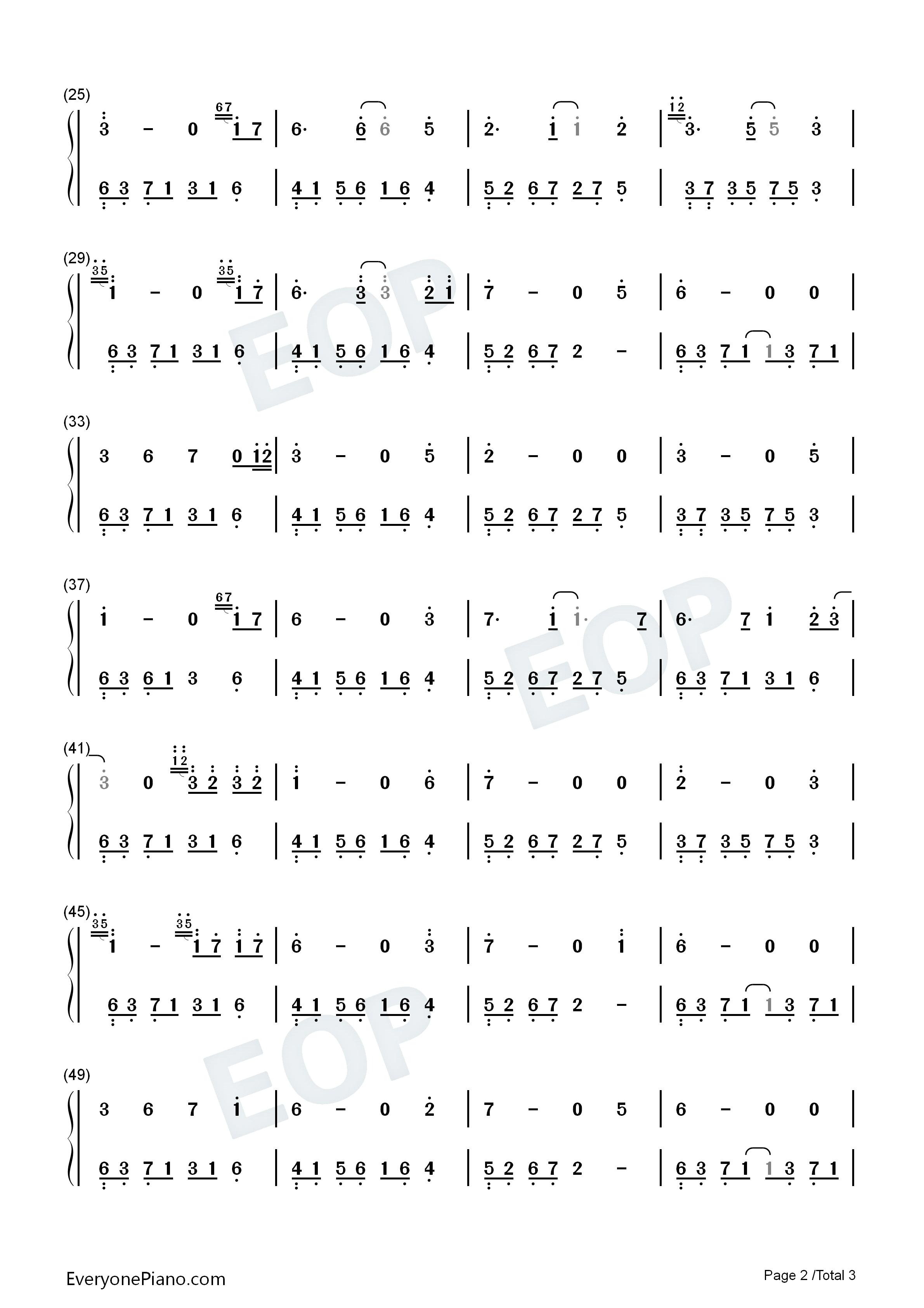 钢琴曲谱 轻音乐 夜的钢琴曲 14-石进 夜的钢琴曲 14-石进双手简谱