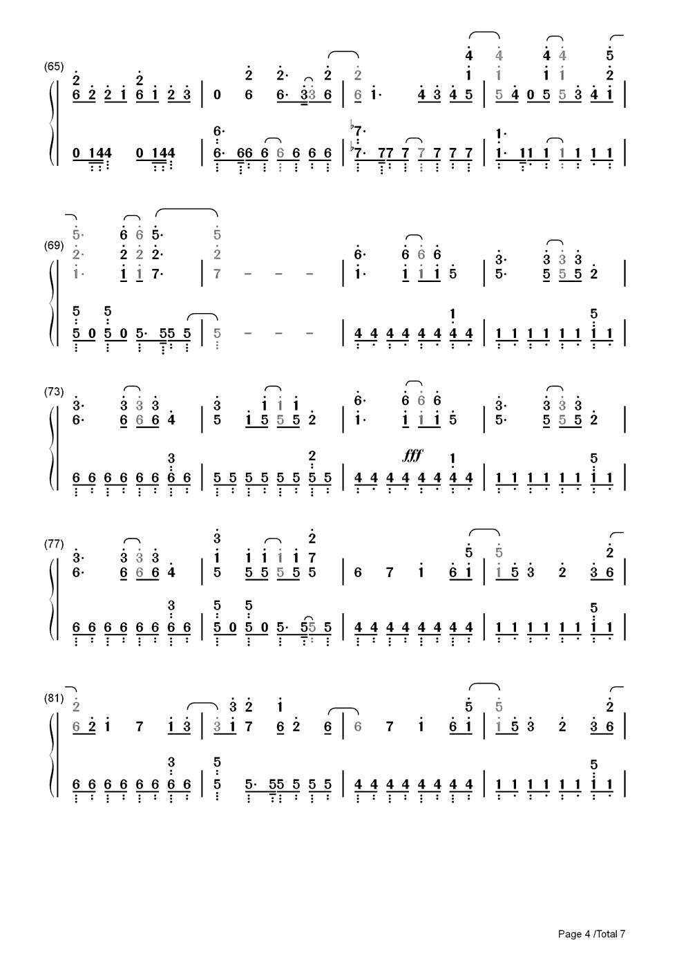 igworld简谱钢琴