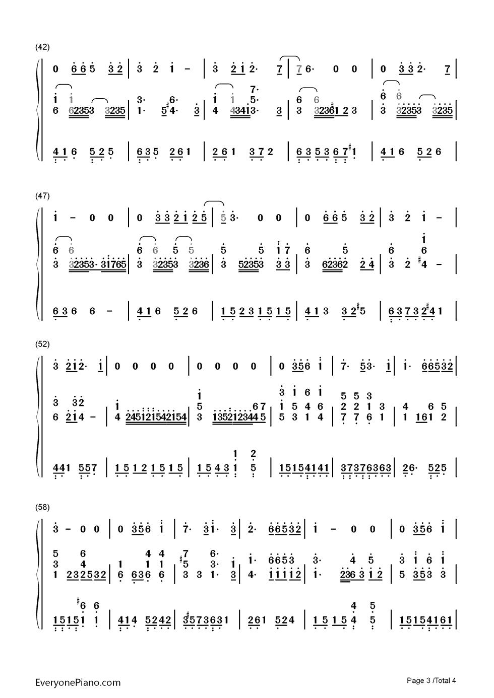 雨水萨克斯乐谱