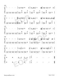 斑马斑马钢琴伴奏简谱_【弹唱】《斑马斑马》附谱