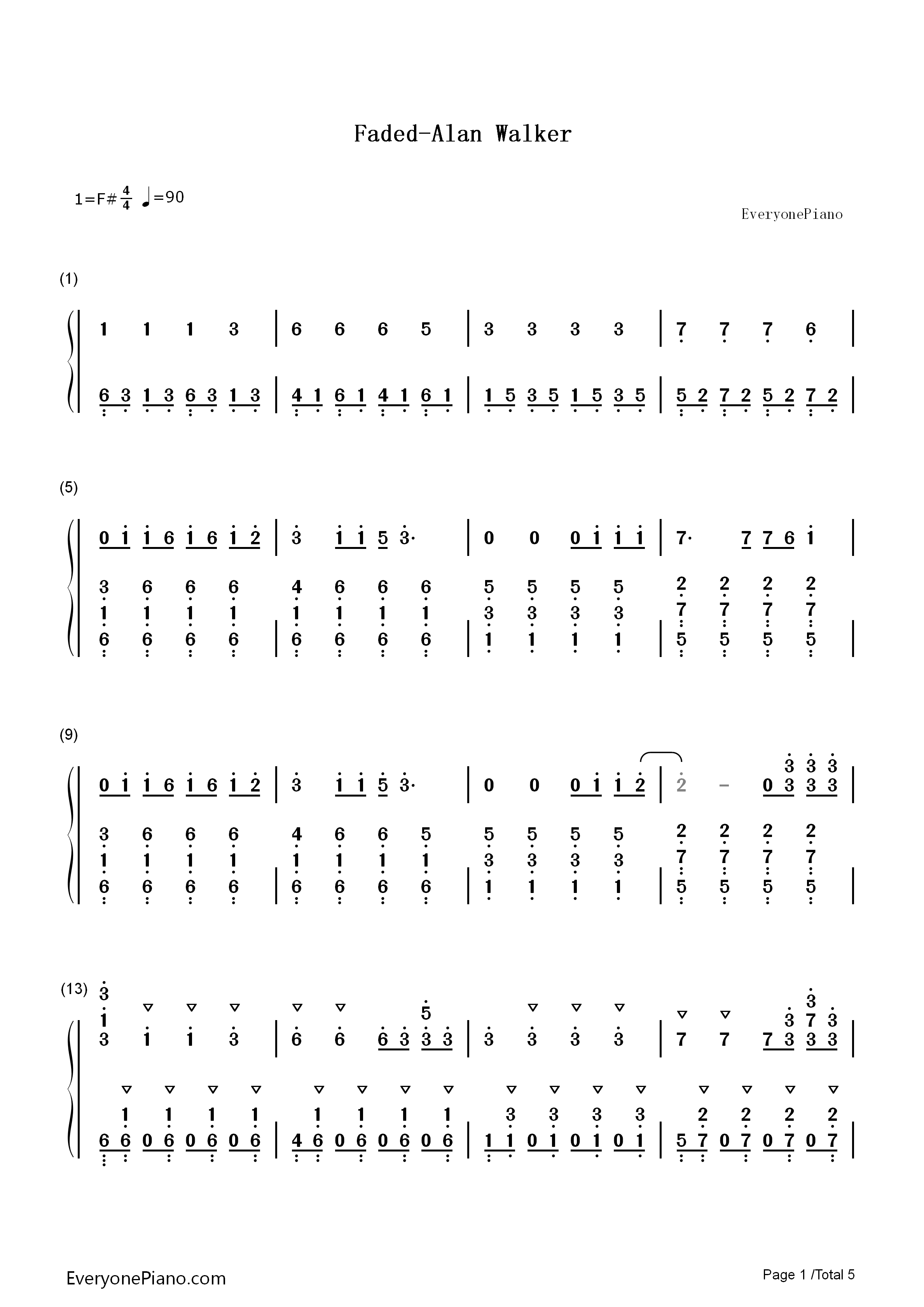 superpadstiktok谱子-宽980*1386高   宽640*360高   fadedipad钢琴谱   宽480*480高