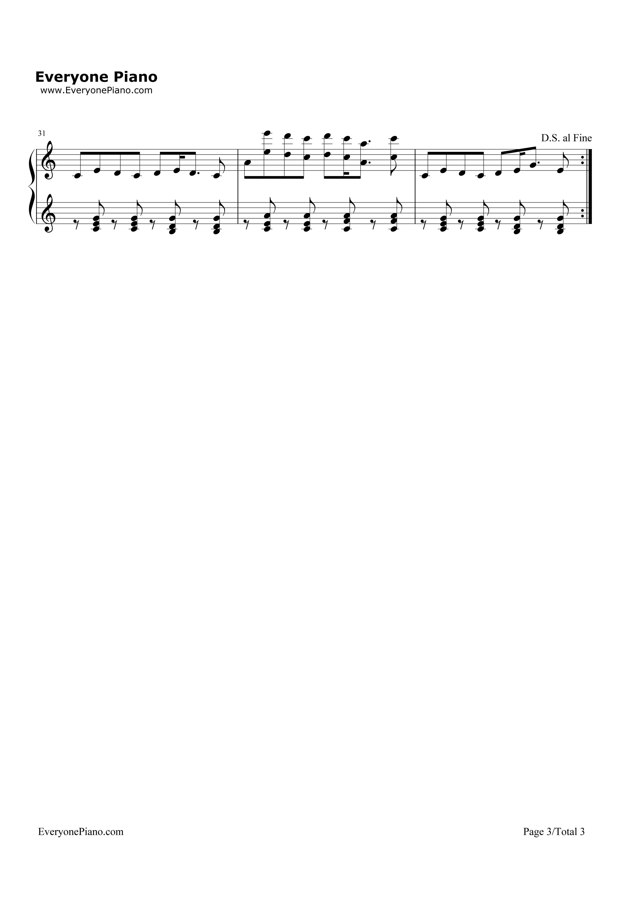 i love you-omfg五线谱预览3-钢琴谱(五线谱,双手简谱