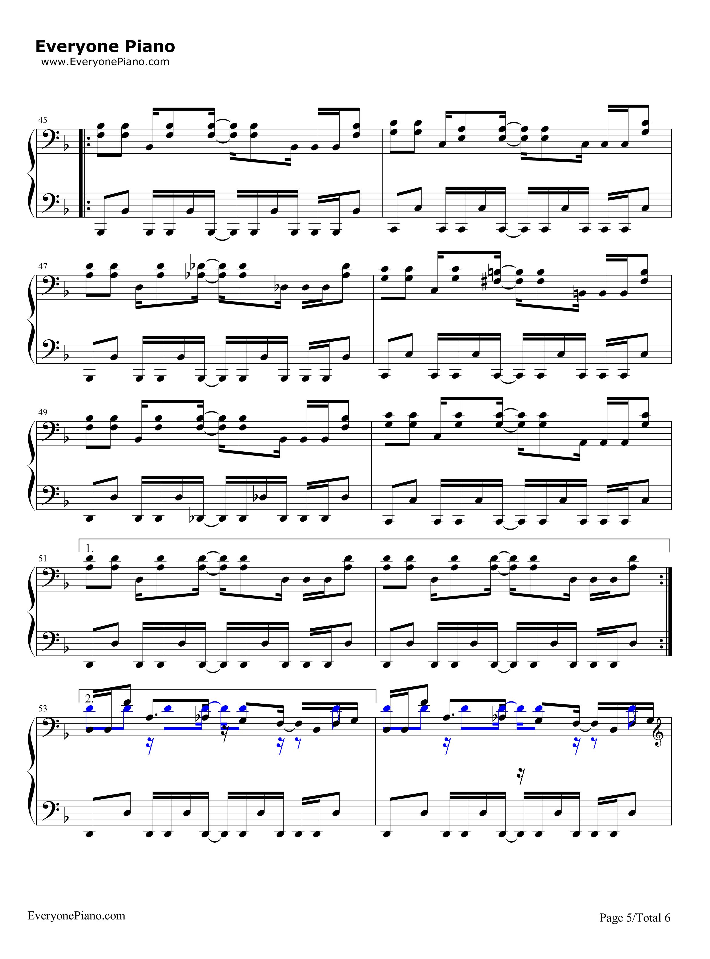 ania口琴谱undertale-megalovania口琴谱