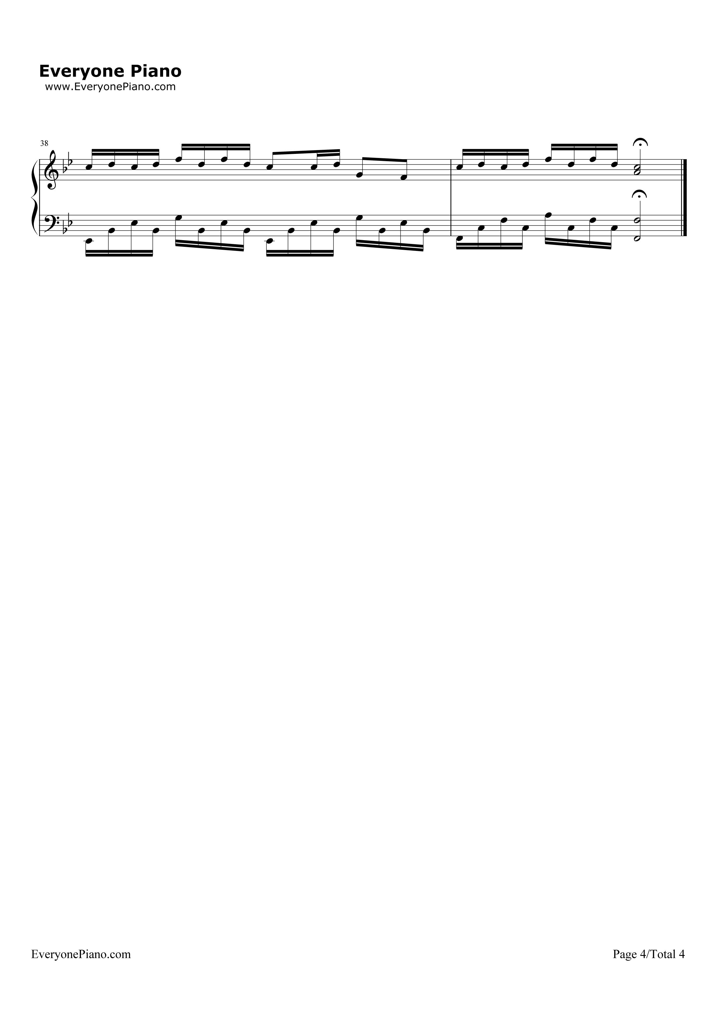 钢琴曲谱 流行 青花瓷(完美演奏版)-周杰伦 青花瓷(完美演奏版)