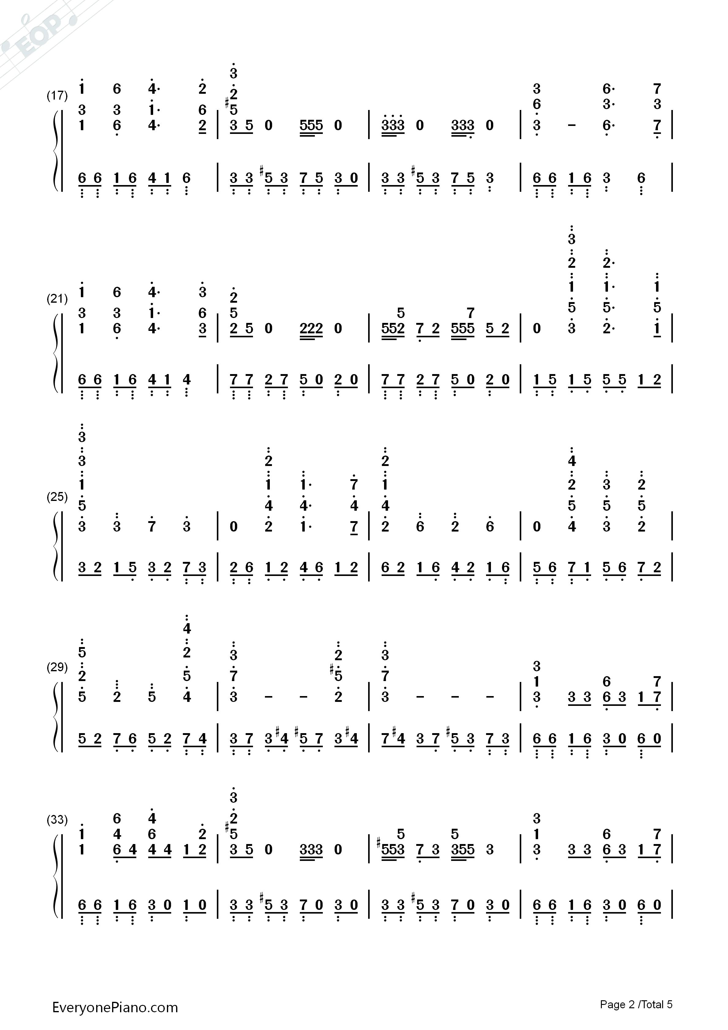 云宫迅音-六小龄童版《西游记》序曲双手简谱预览