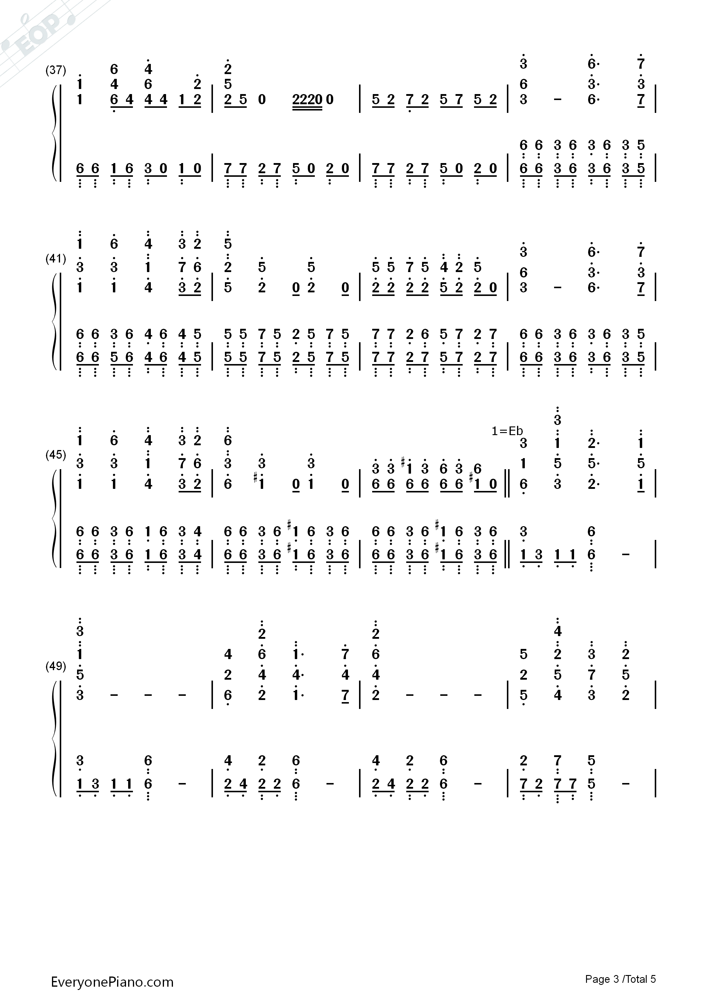 云宫迅音-六小龄童版《西游记》序曲双手简谱预览图片