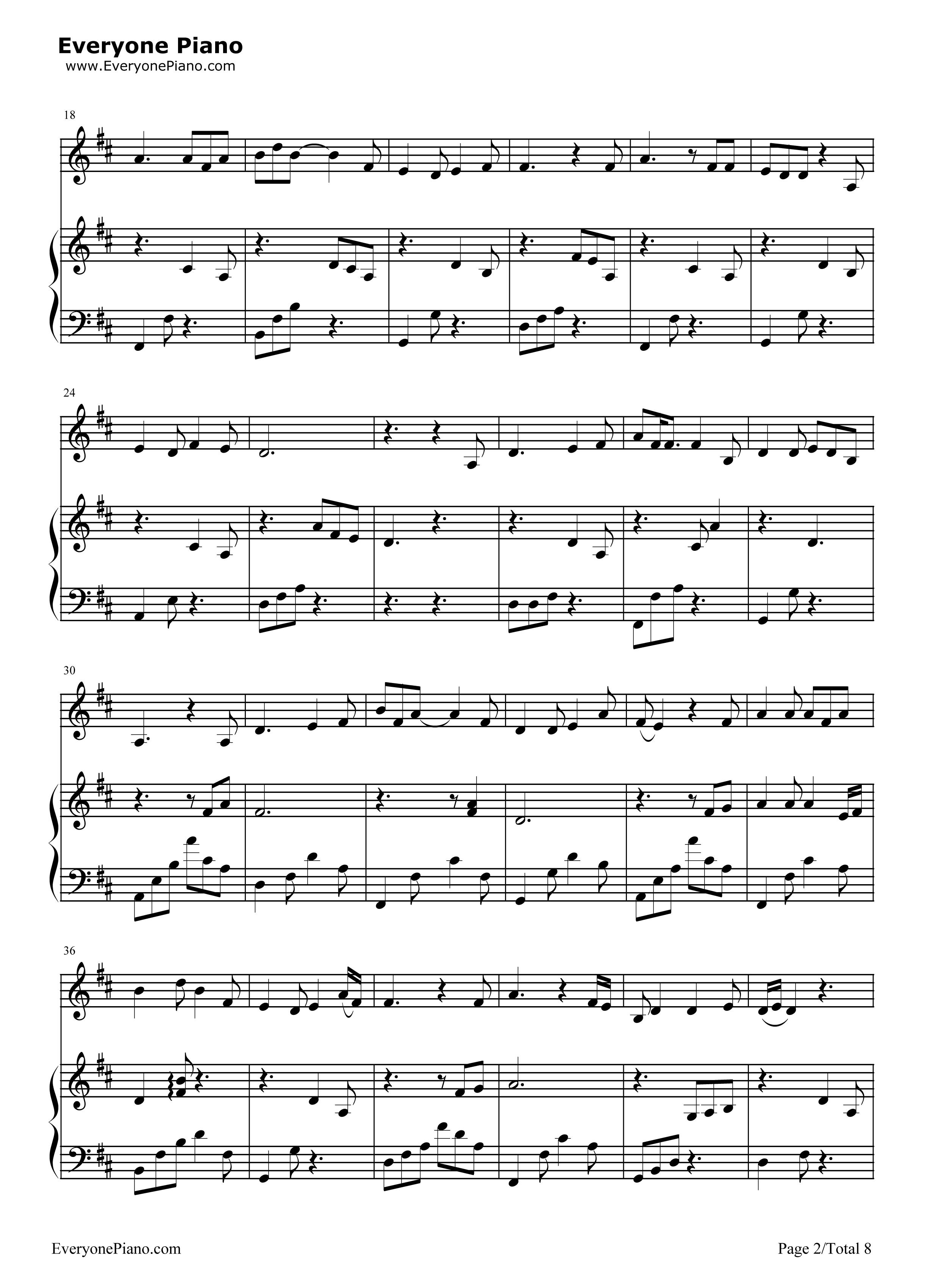 钢琴曲谱 流行 成都-弹唱版 成都-弹唱版五线谱预览2  }  仅供学习