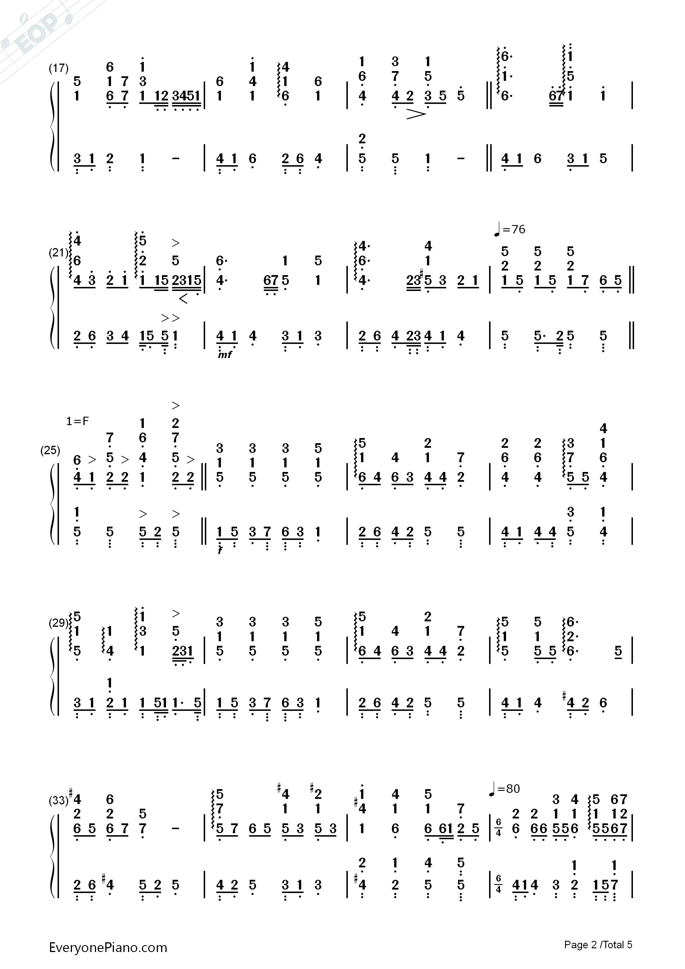 钢琴曲谱 经典 野玫瑰-舒伯特 野玫瑰-舒伯特双手简谱预览2  }  仅供
