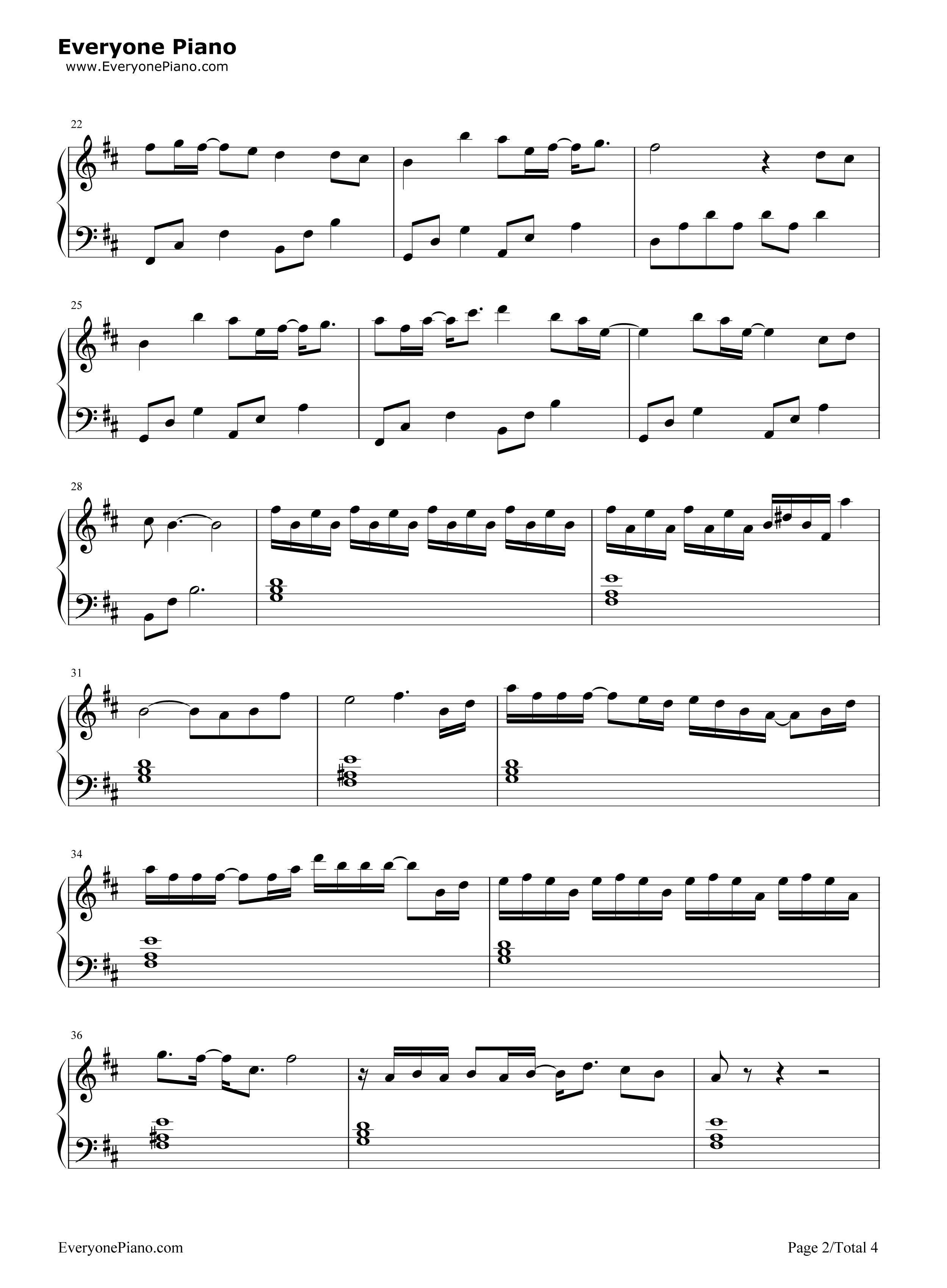 钢琴曲谱 影视 九张机-双世宠妃主题曲 九张机-双世宠妃主题曲五线谱